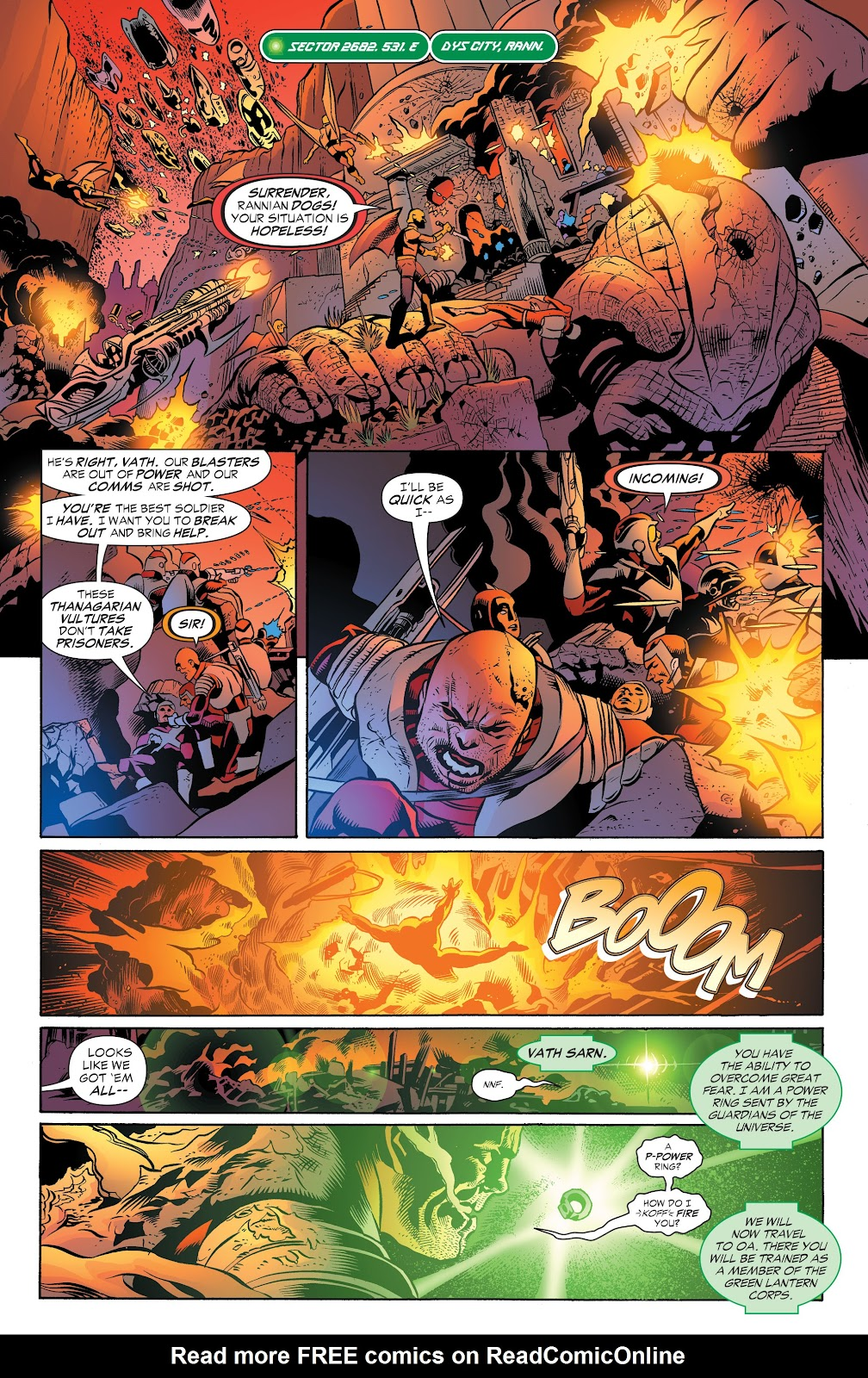 Read online Green Lantern by Geoff Johns comic -  Issue # TPB 1 (Part 2) - 88