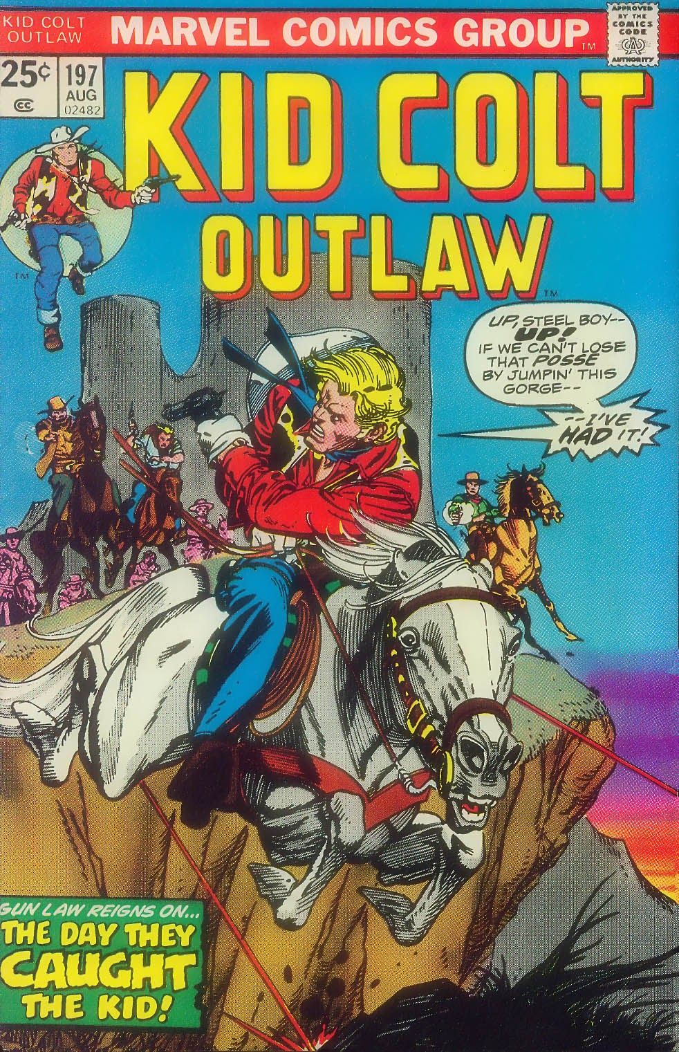 Kid Colt Outlaw issue 197 - Page 1
