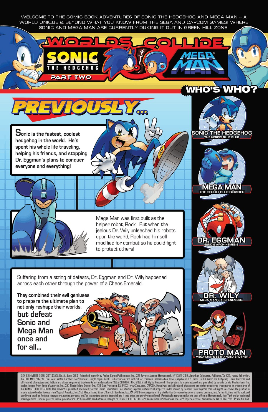 Read online Sonic Universe comic -  Issue #51 - 2