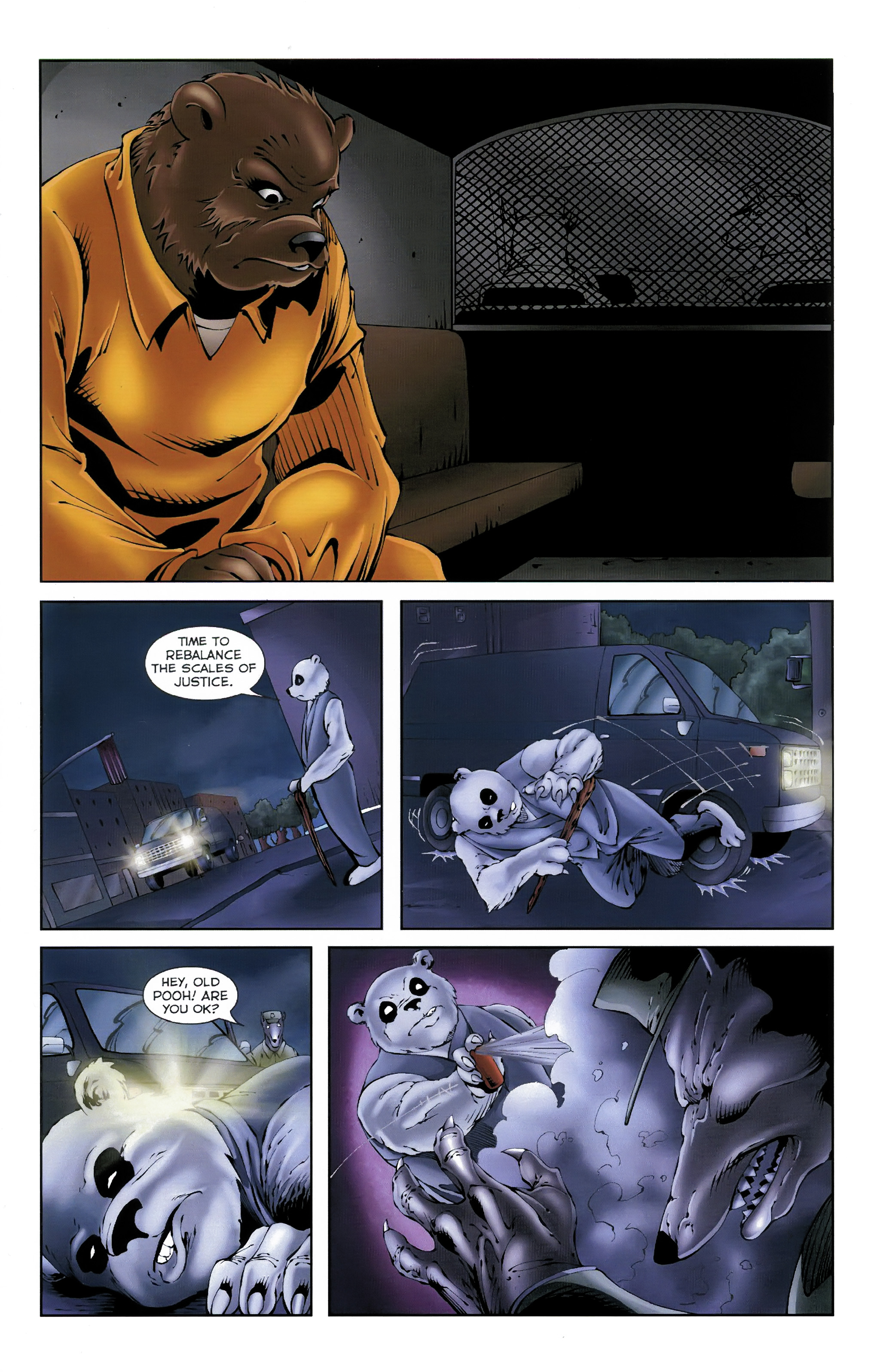 Read online Dead Pooh comic -  Issue #3 - 10