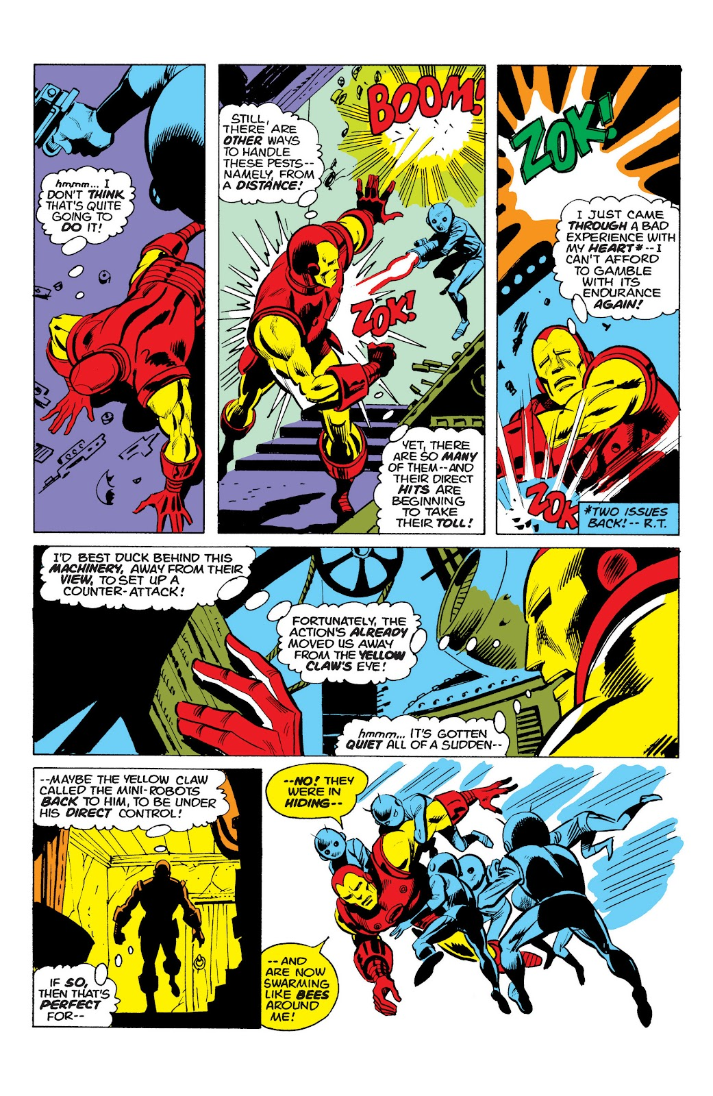 Read online Marvel Masterworks: The Invincible Iron Man comic -  Issue # TPB 10 (Part 1) - 71