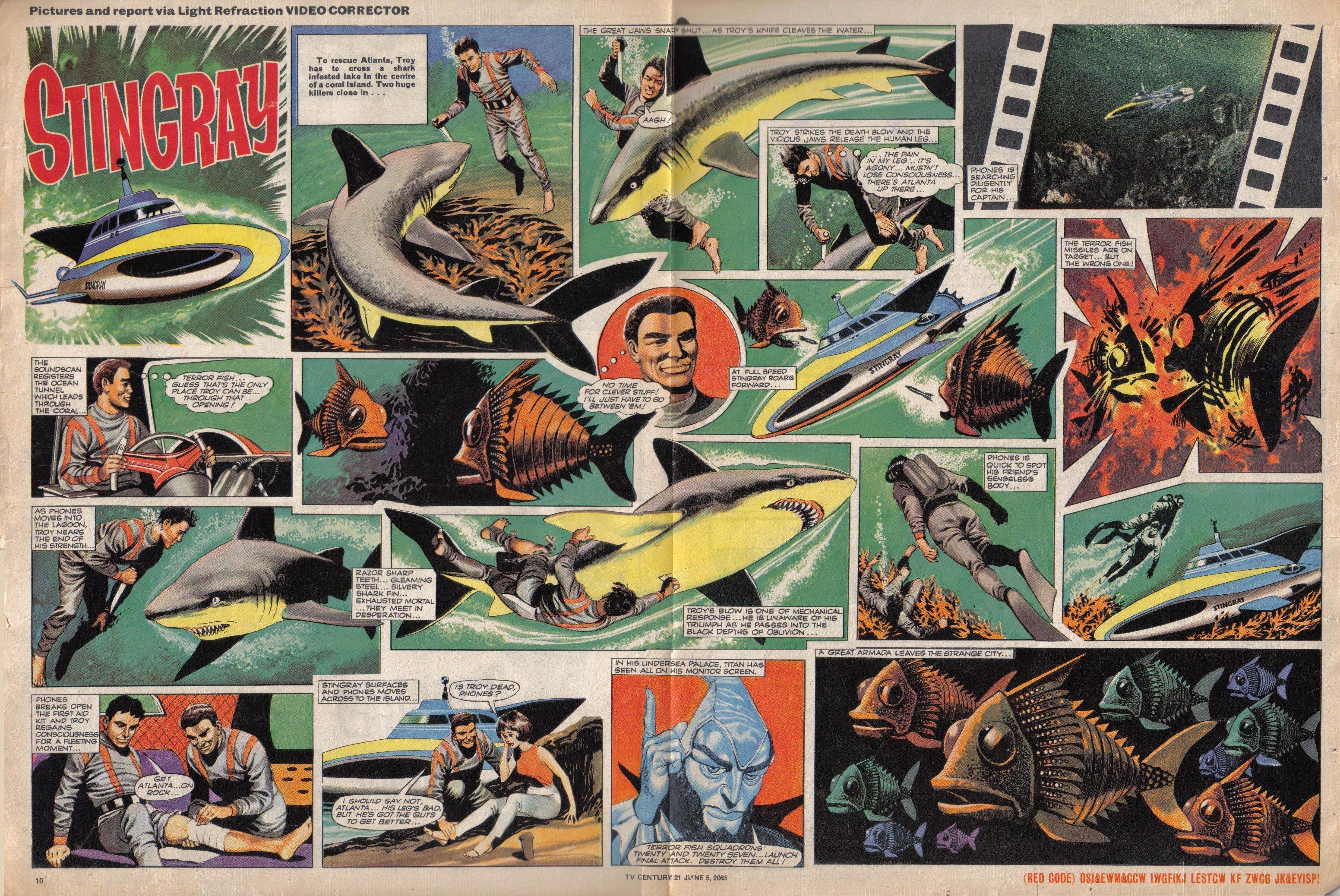 Read online TV Century 21 (TV 21) comic -  Issue #20 - 10
