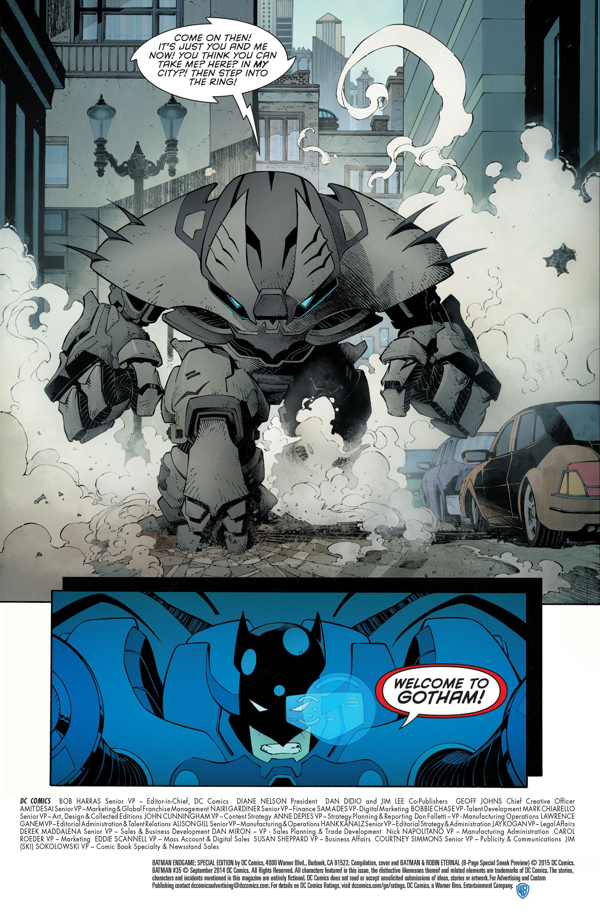 Read online Batman Endgame: Special Edition comic -  Issue #1 - 4