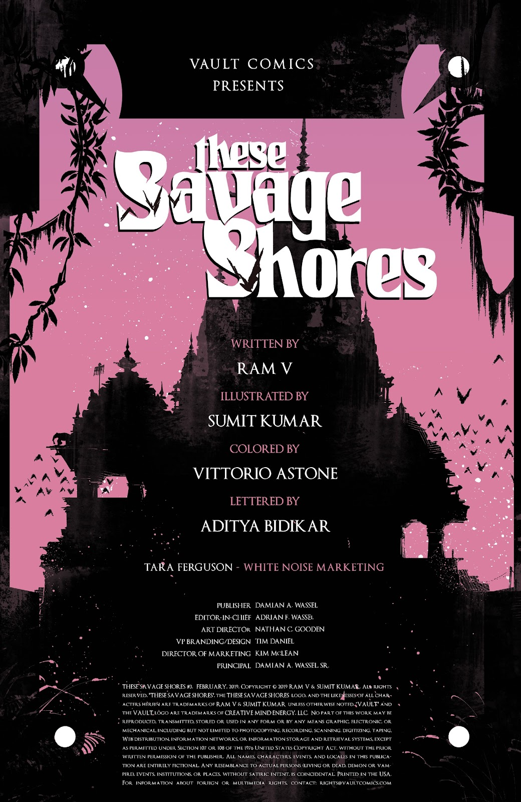 Read online These Savage Shores comic -  Issue #3 - 3