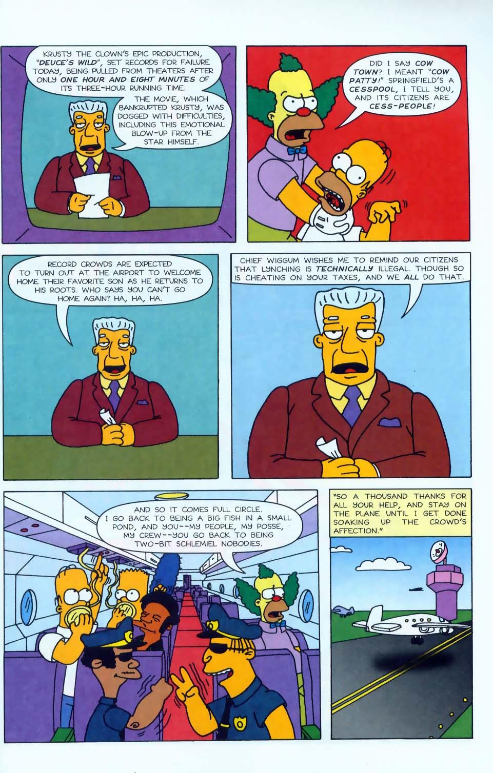 Read online Simpsons Comics comic -  Issue #50 - 54