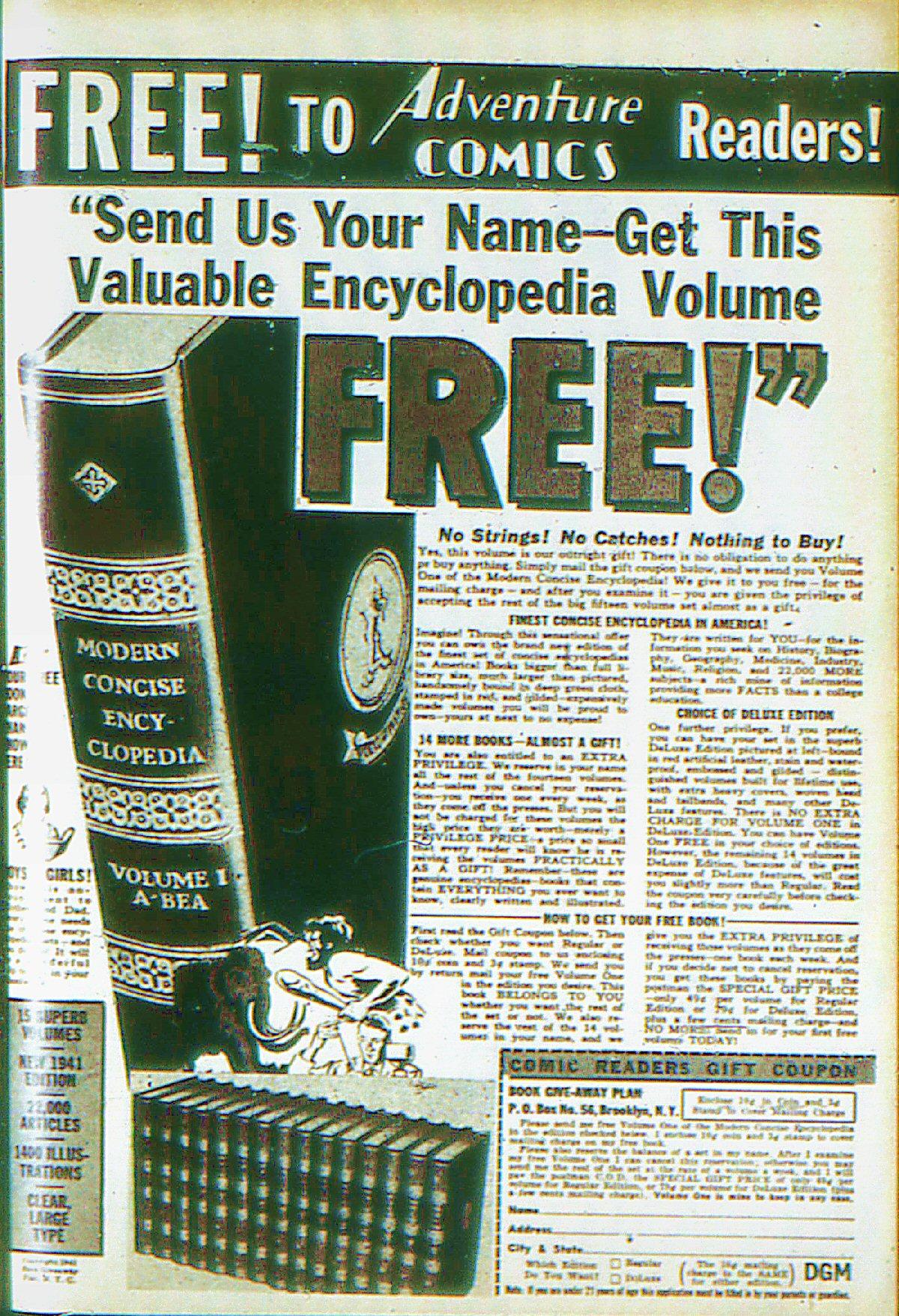 Read online Adventure Comics (1938) comic -  Issue #66 - 67
