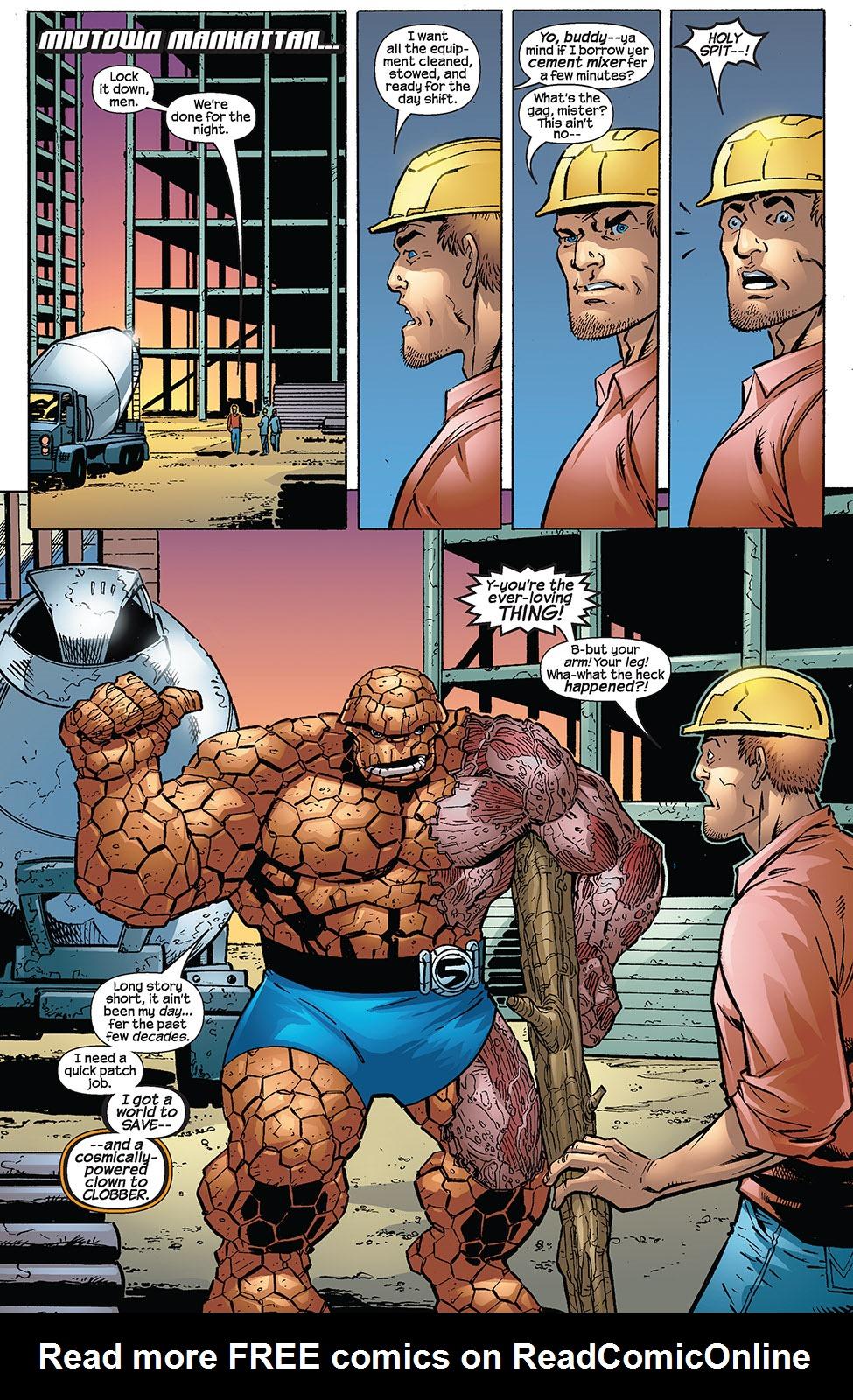 Read online Fantastic Five (2007) comic -  Issue #3 - 3