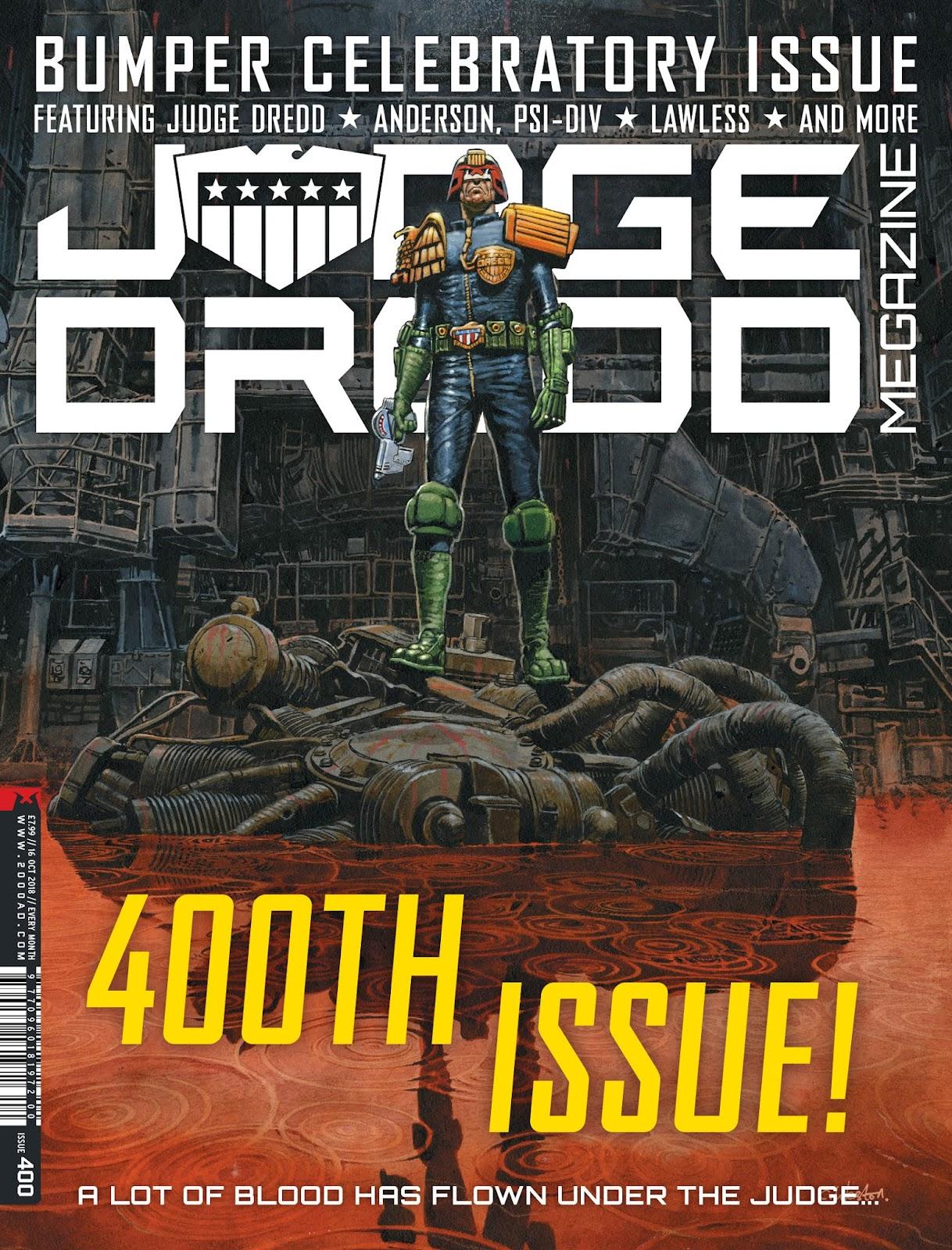 Judge Dredd Megazine (Vol. 5) issue 400 - Page 1
