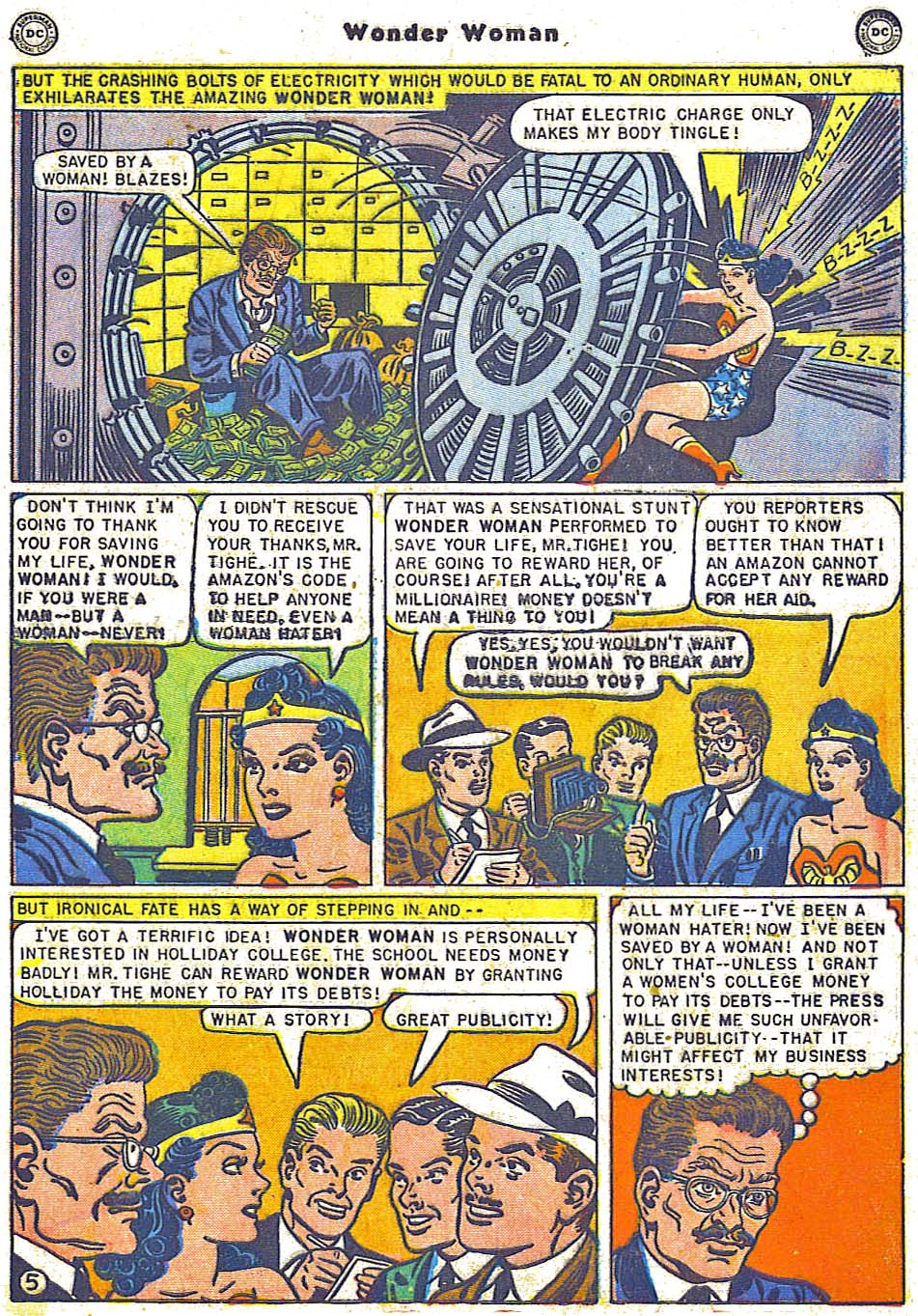 Read online Wonder Woman (1942) comic -  Issue #38 - 41