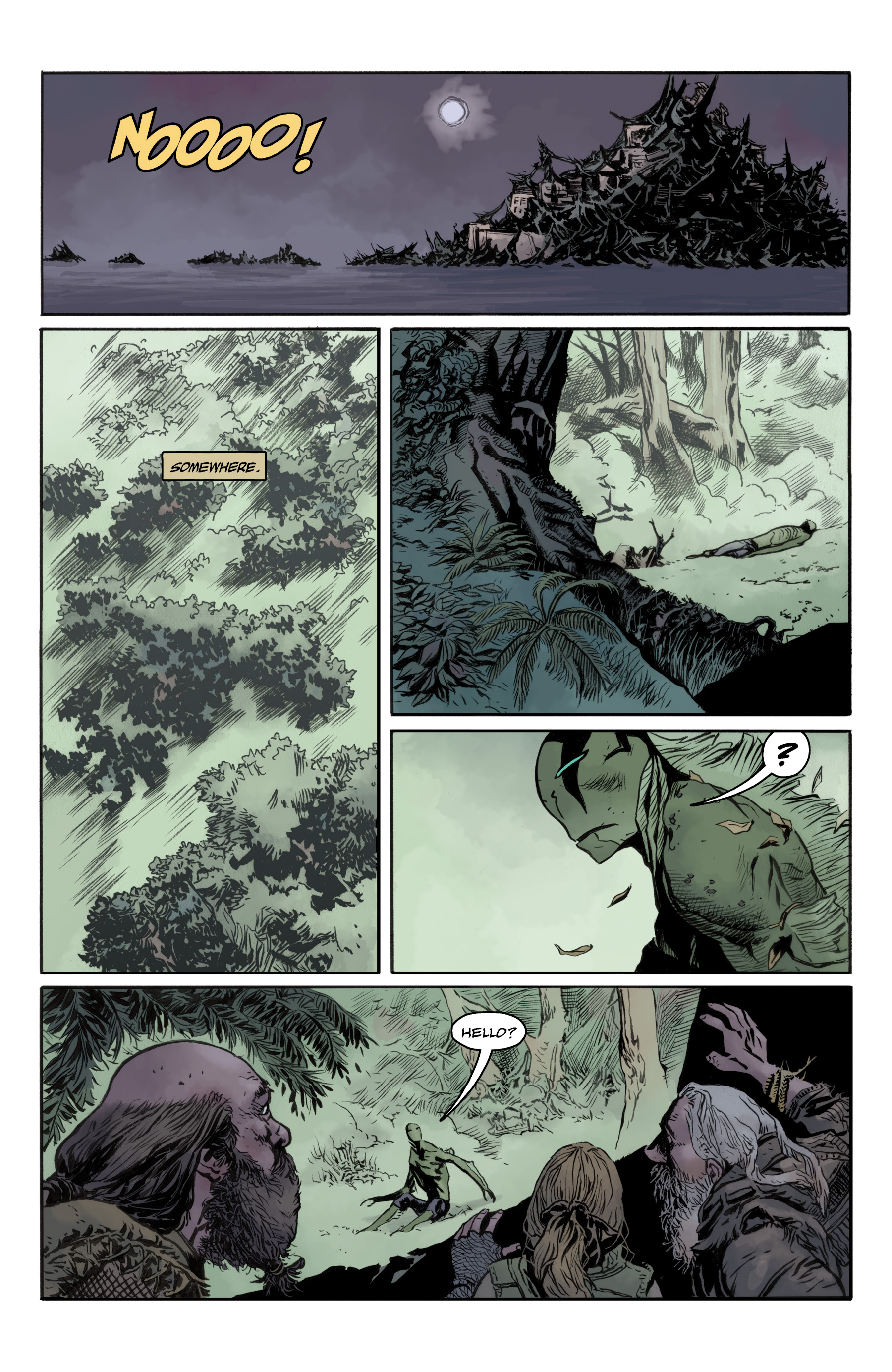 Read online Abe Sapien comic -  Issue #35 - 11