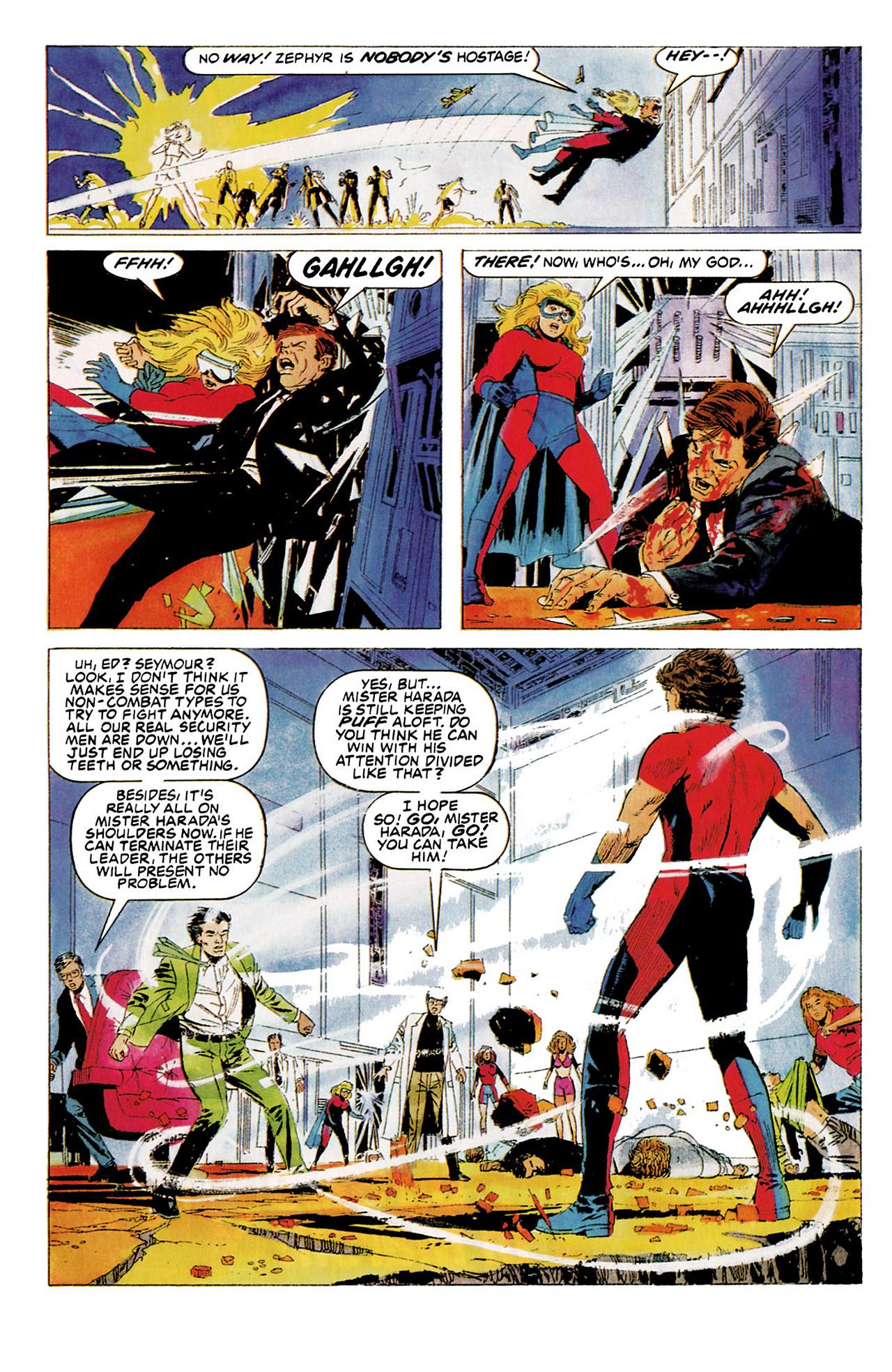 Read online Harbinger (1992) comic -  Issue #5 - 15