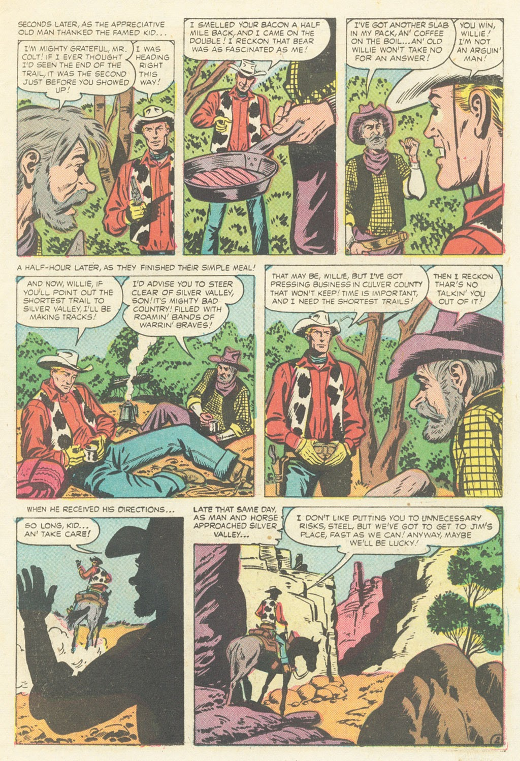 Kid Colt Outlaw issue 52 - Page 11