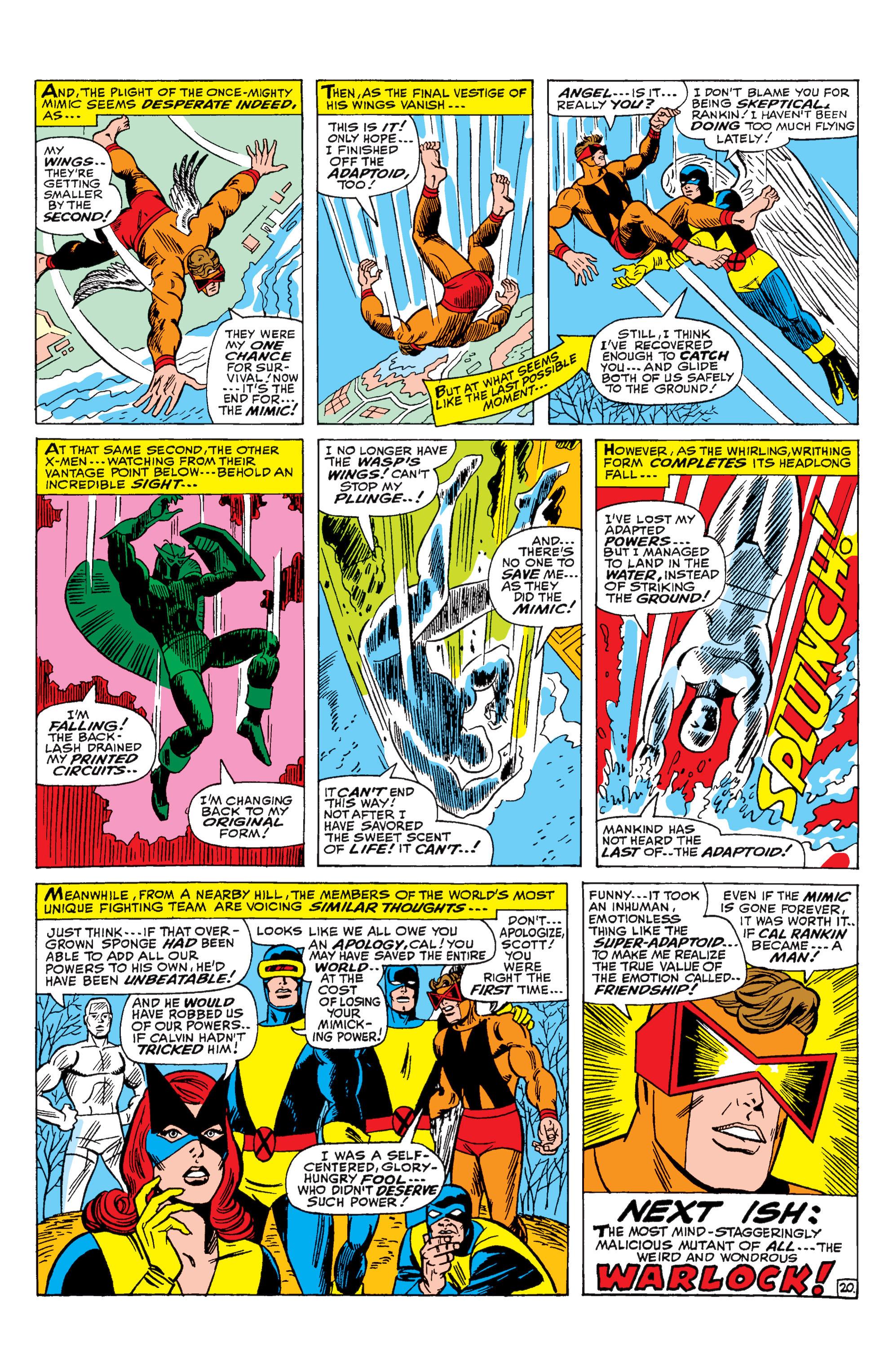 Read online Uncanny X-Men (1963) comic -  Issue #29 - 21