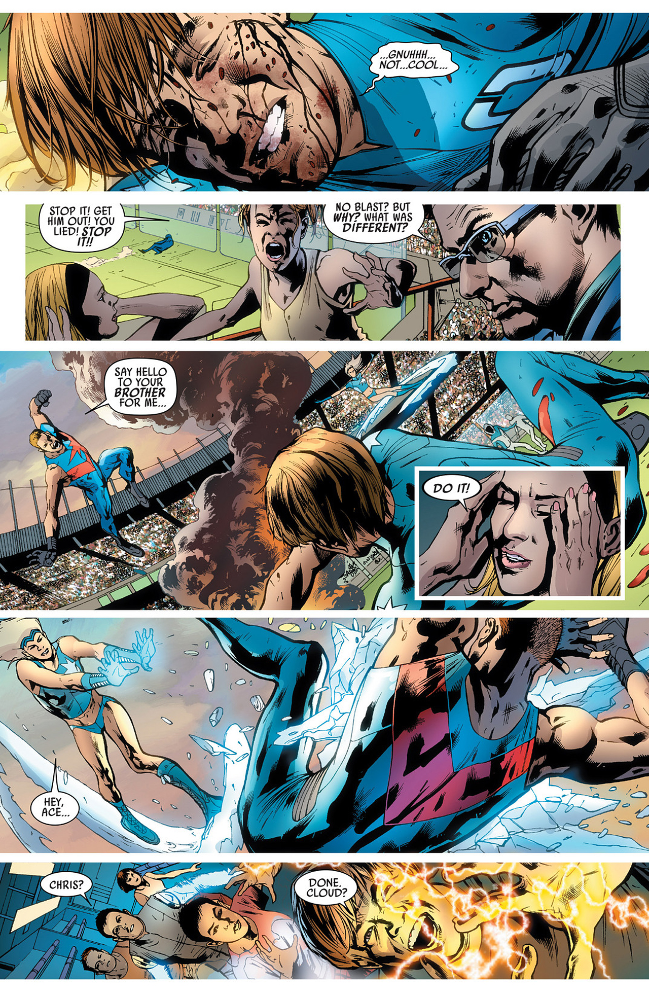 Read online America's Got Powers comic -  Issue #3 - 20