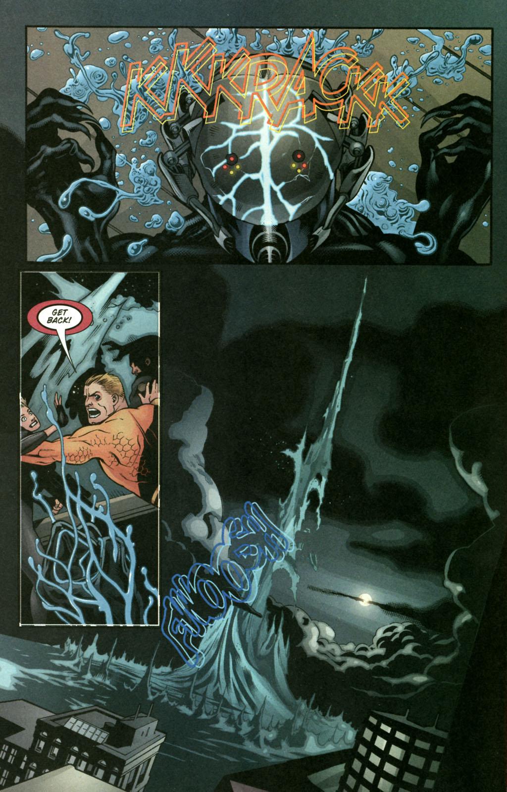 Read online Aquaman (2003) comic -  Issue #22 - 14