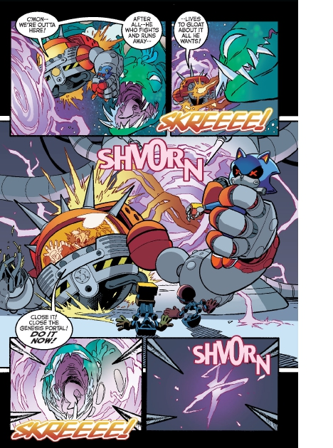 Read online Sonic Comics Spectacular: Speed of Sound comic -  Issue # Full - 140