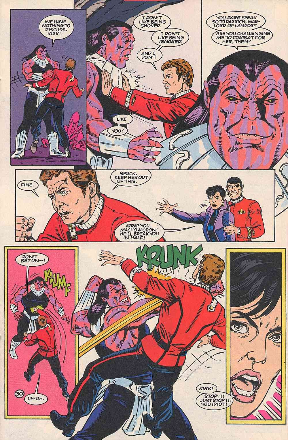 Read online Star Trek (1989) comic -  Issue # _Special 1 - 37