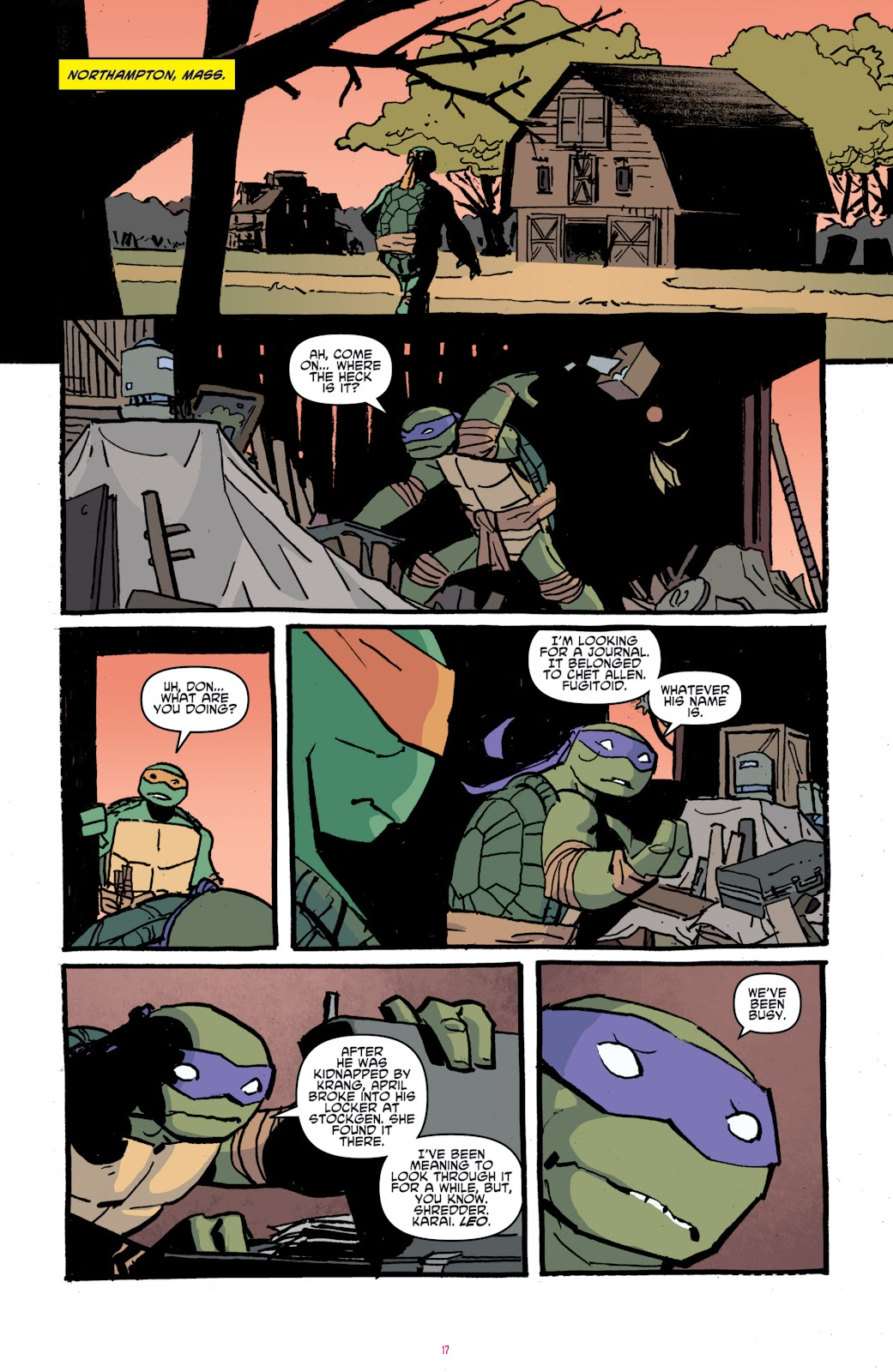 Read online Teenage Mutant Ninja Turtles: The IDW Collection comic -  Issue # TPB 4 (Part 1) - 46