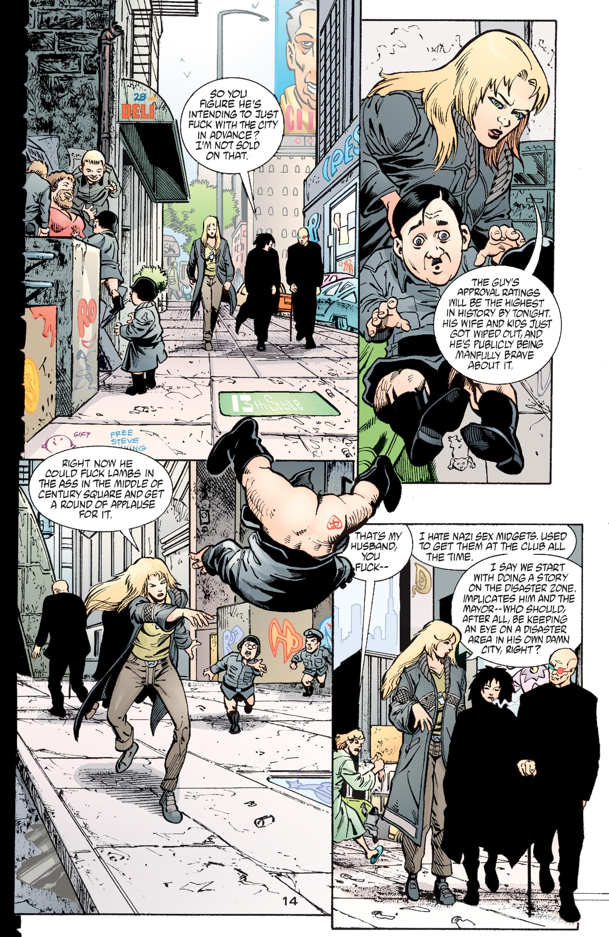Read online Transmetropolitan comic -  Issue #49 - 15