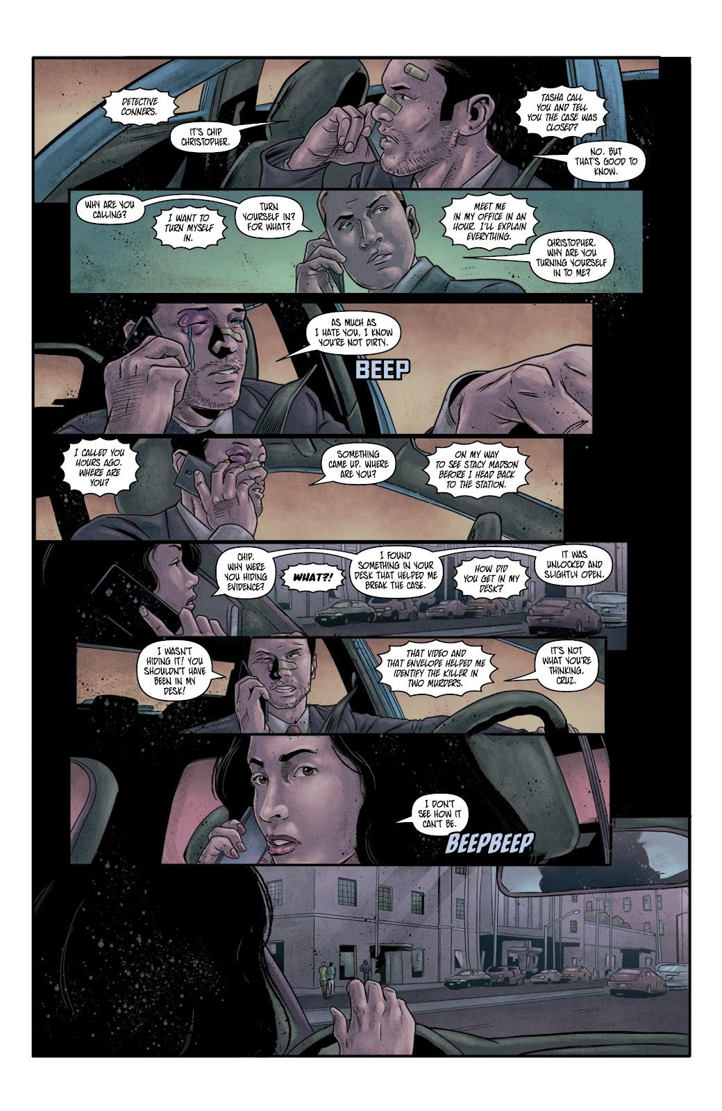 Read online Vindication comic -  Issue #4 - 20