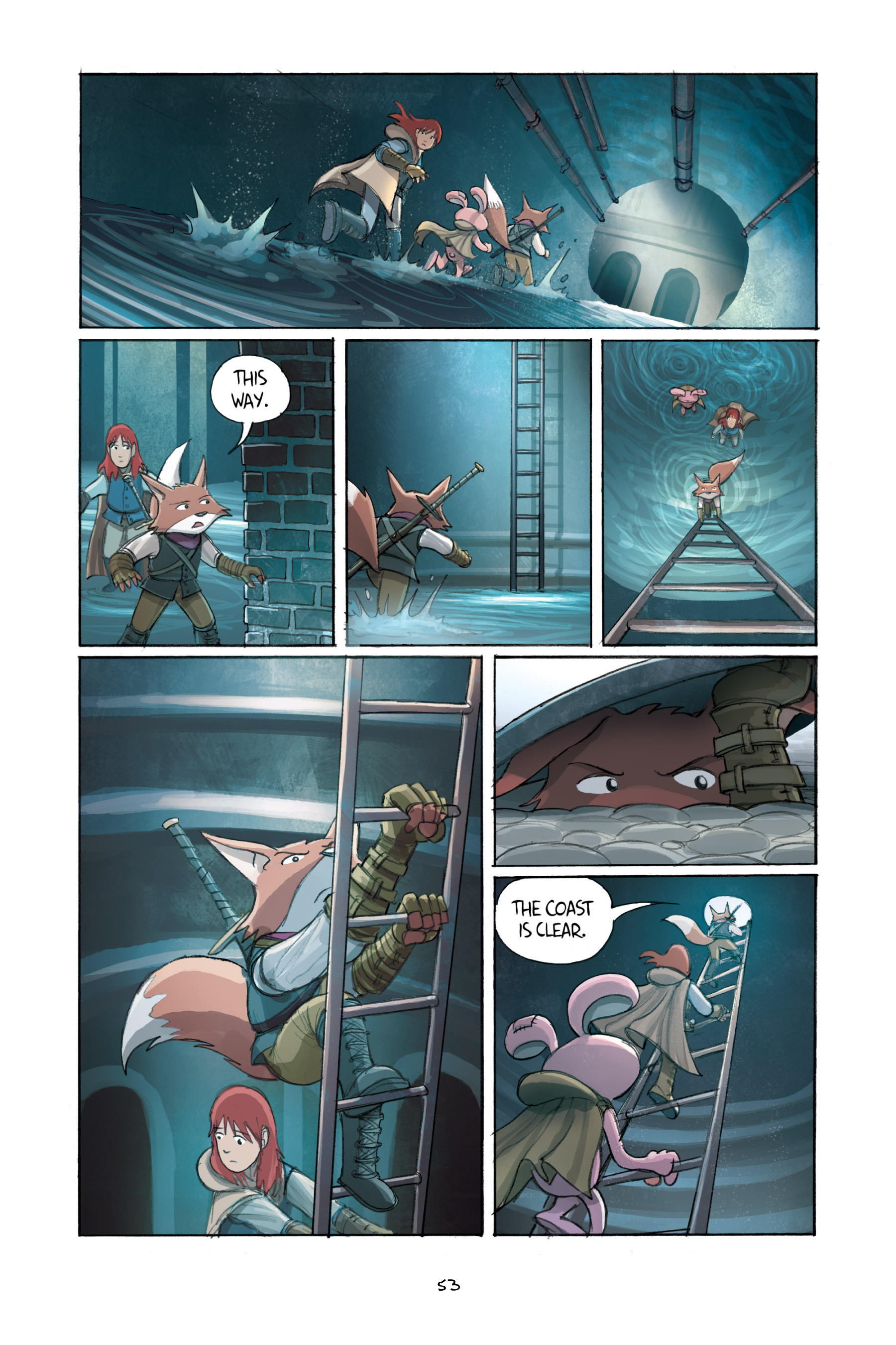 Read online Amulet comic -  Issue #2 - 55