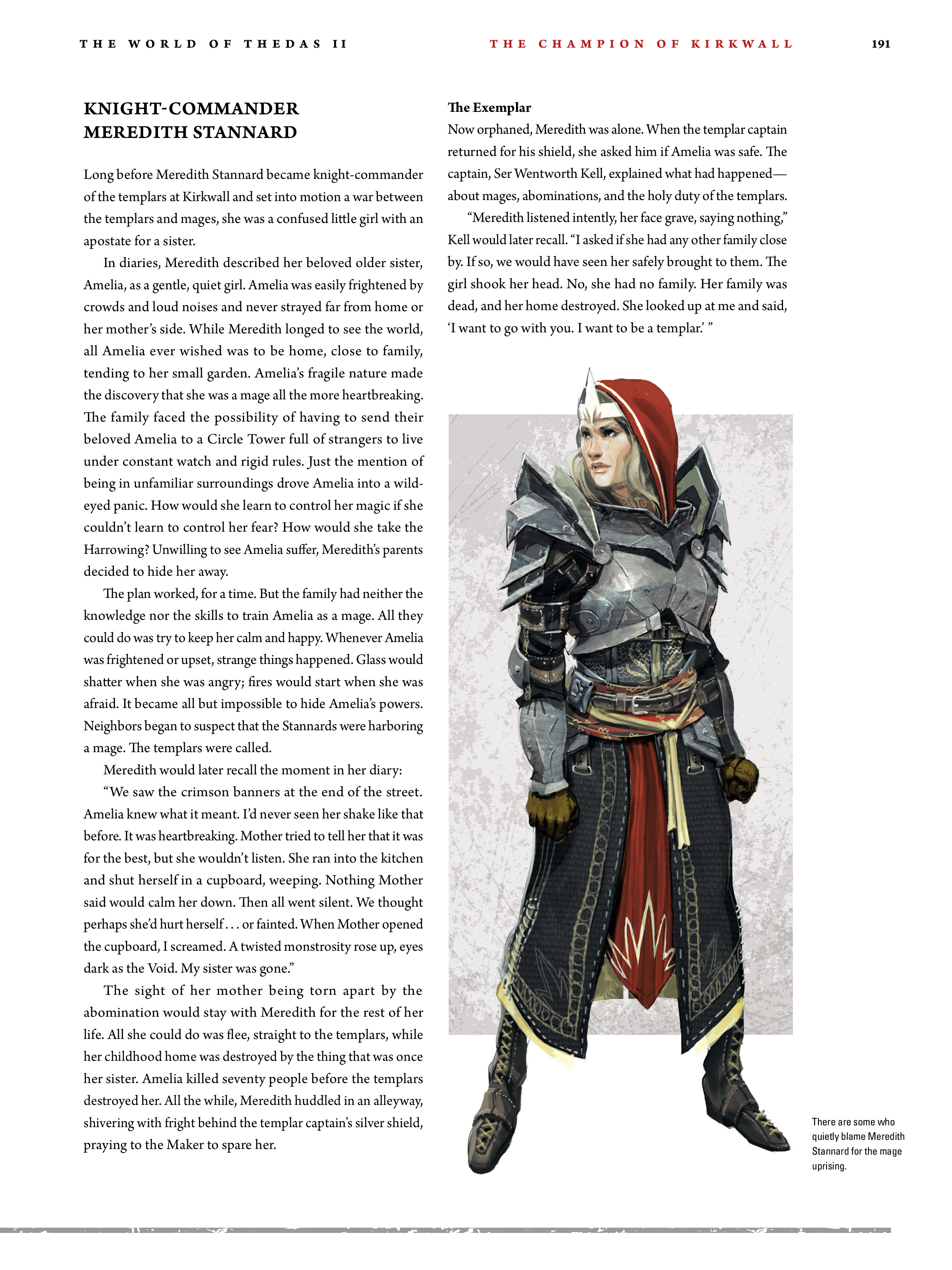 Read online Dragon Age: The World of Thedas comic -  Issue # TPB 2 - 186