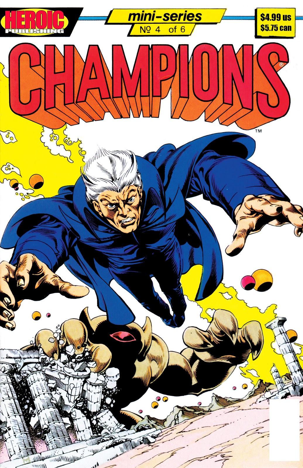 Champions (1986) issue 4 - Page 1
