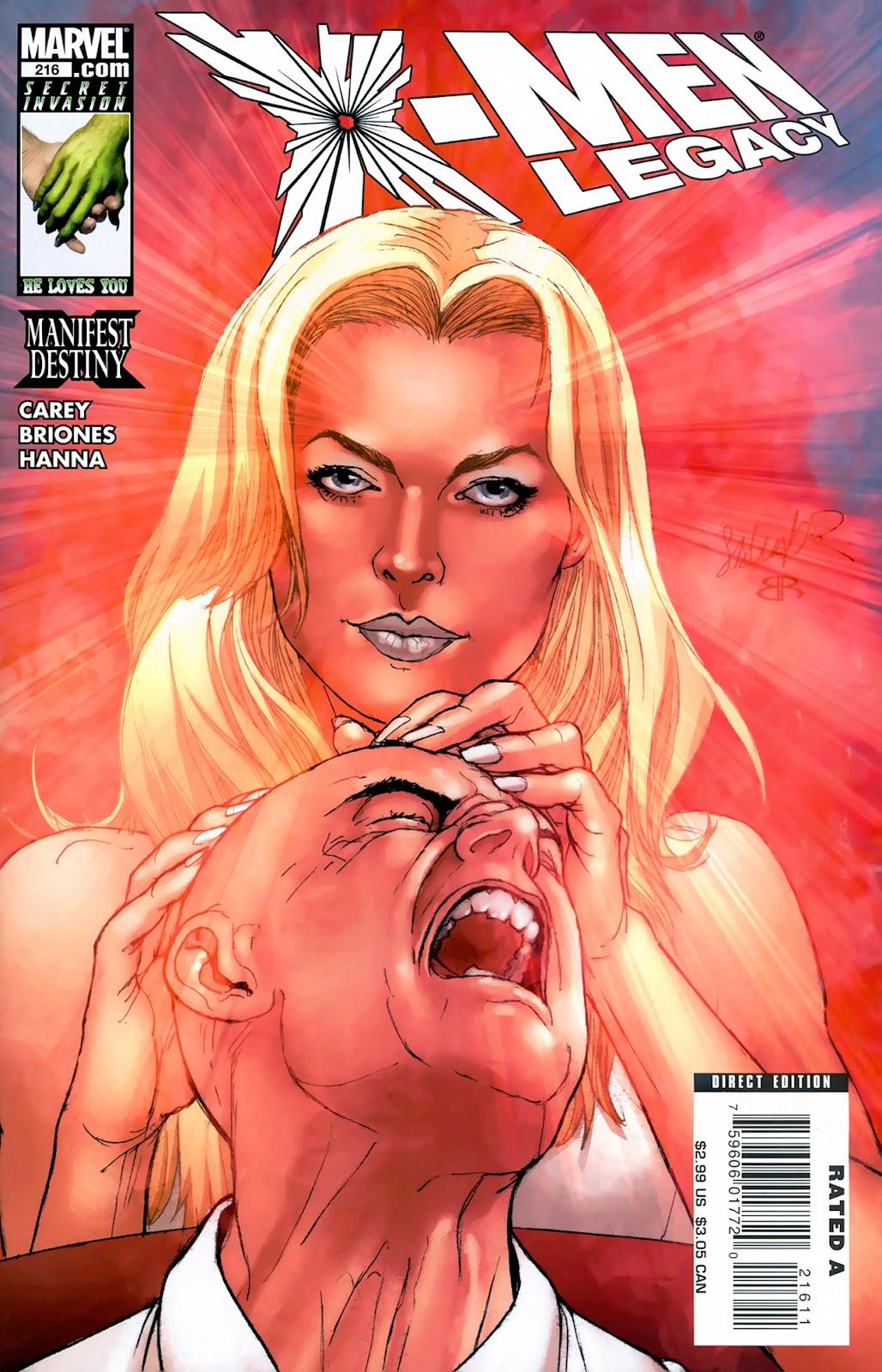 X-Men Legacy (2008) 216 Page 1