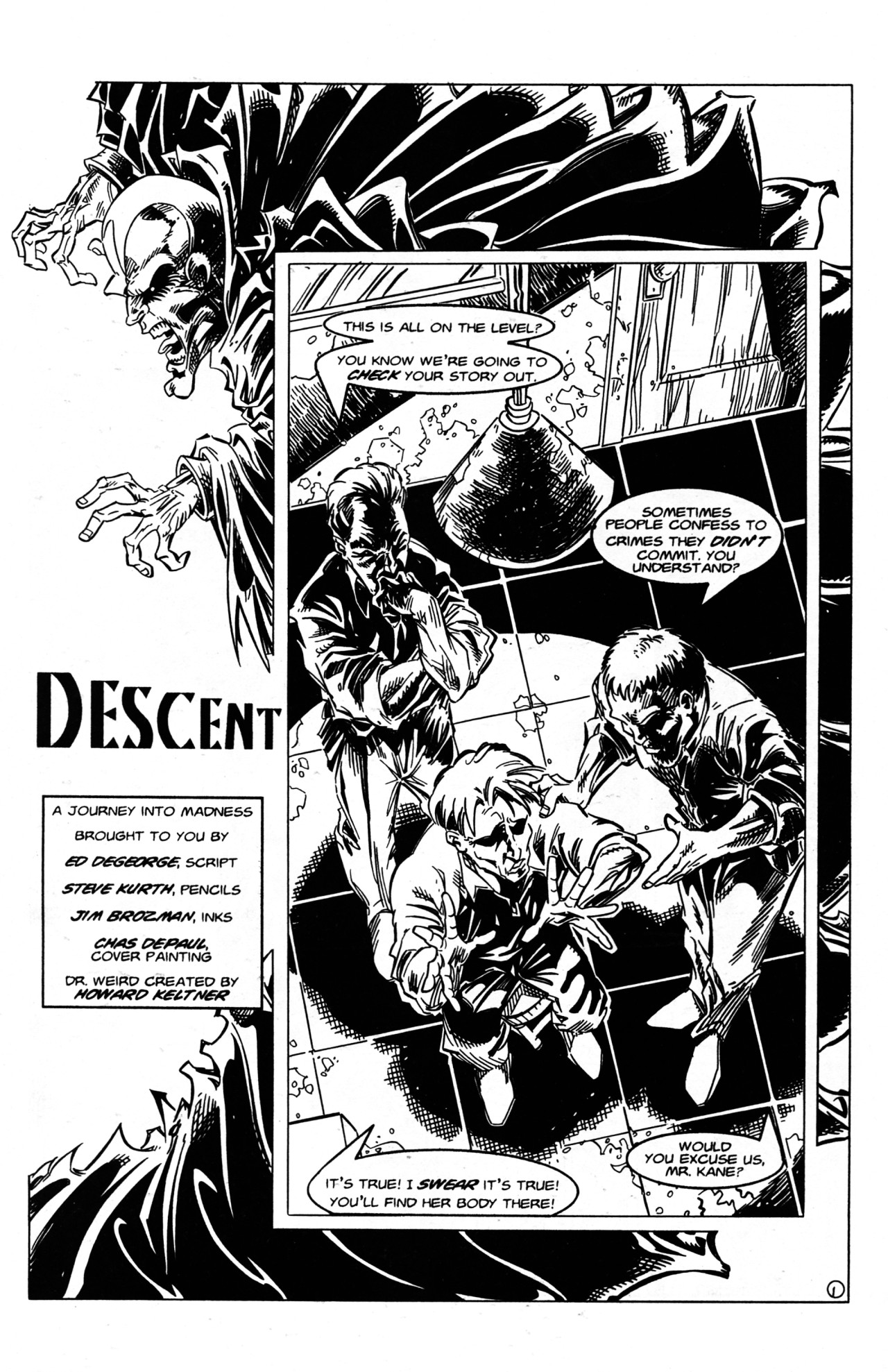 Read online Dr. Weird (1997) comic -  Issue #2 - 3