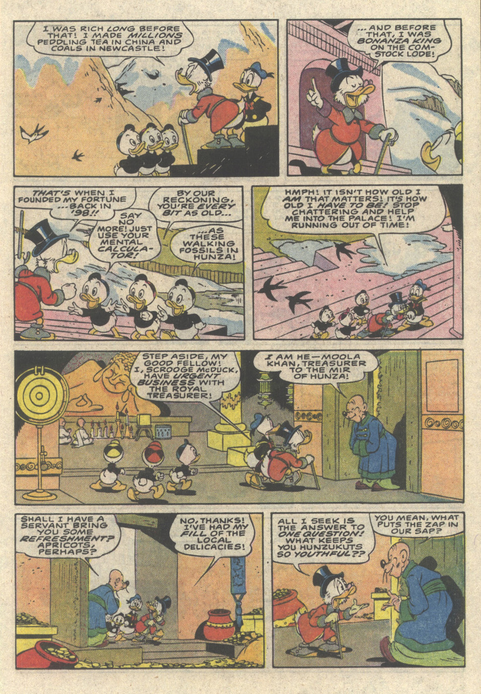 Read online Uncle Scrooge (1953) comic -  Issue #216 - 13