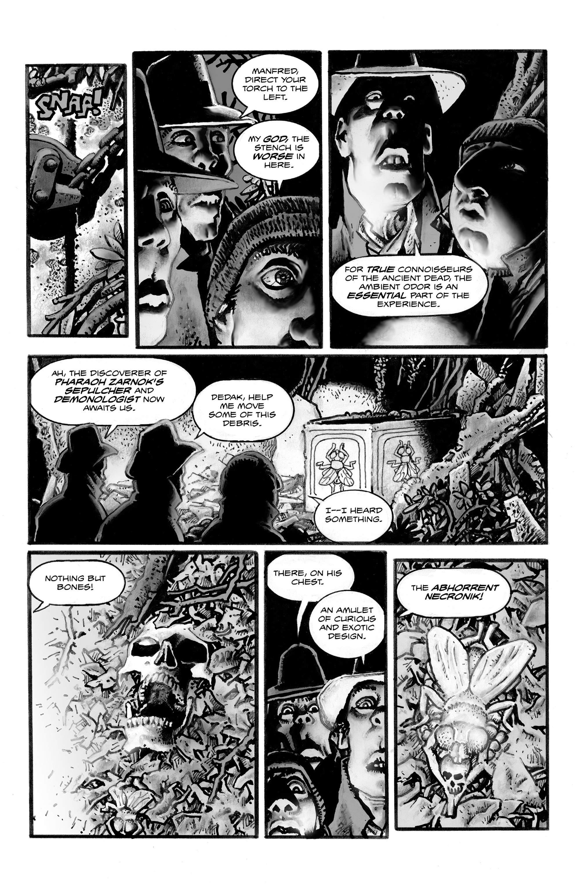 Read online Shadows on the Grave comic -  Issue #3 - 8
