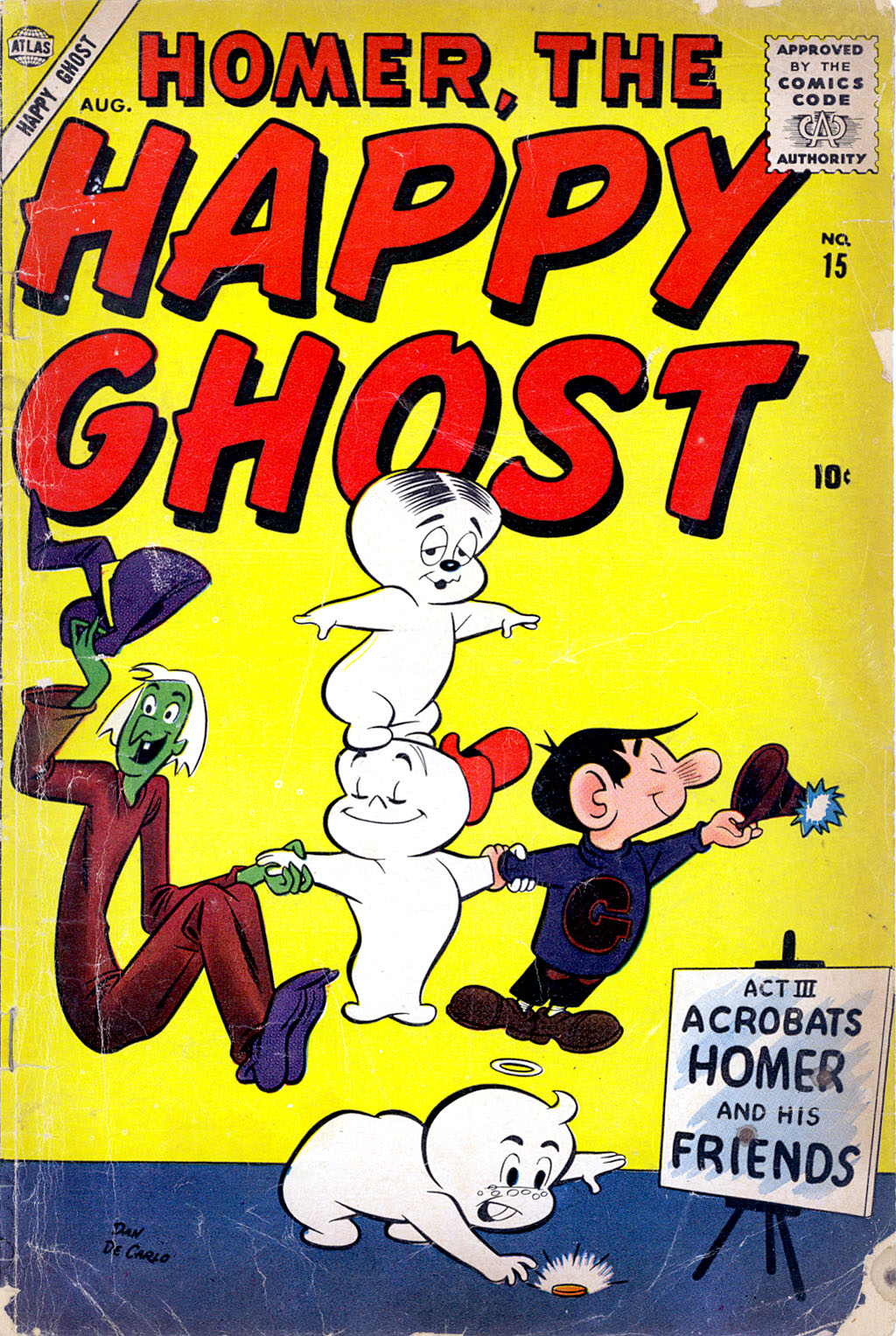 Homer, the Happy Ghost 15 Page 1