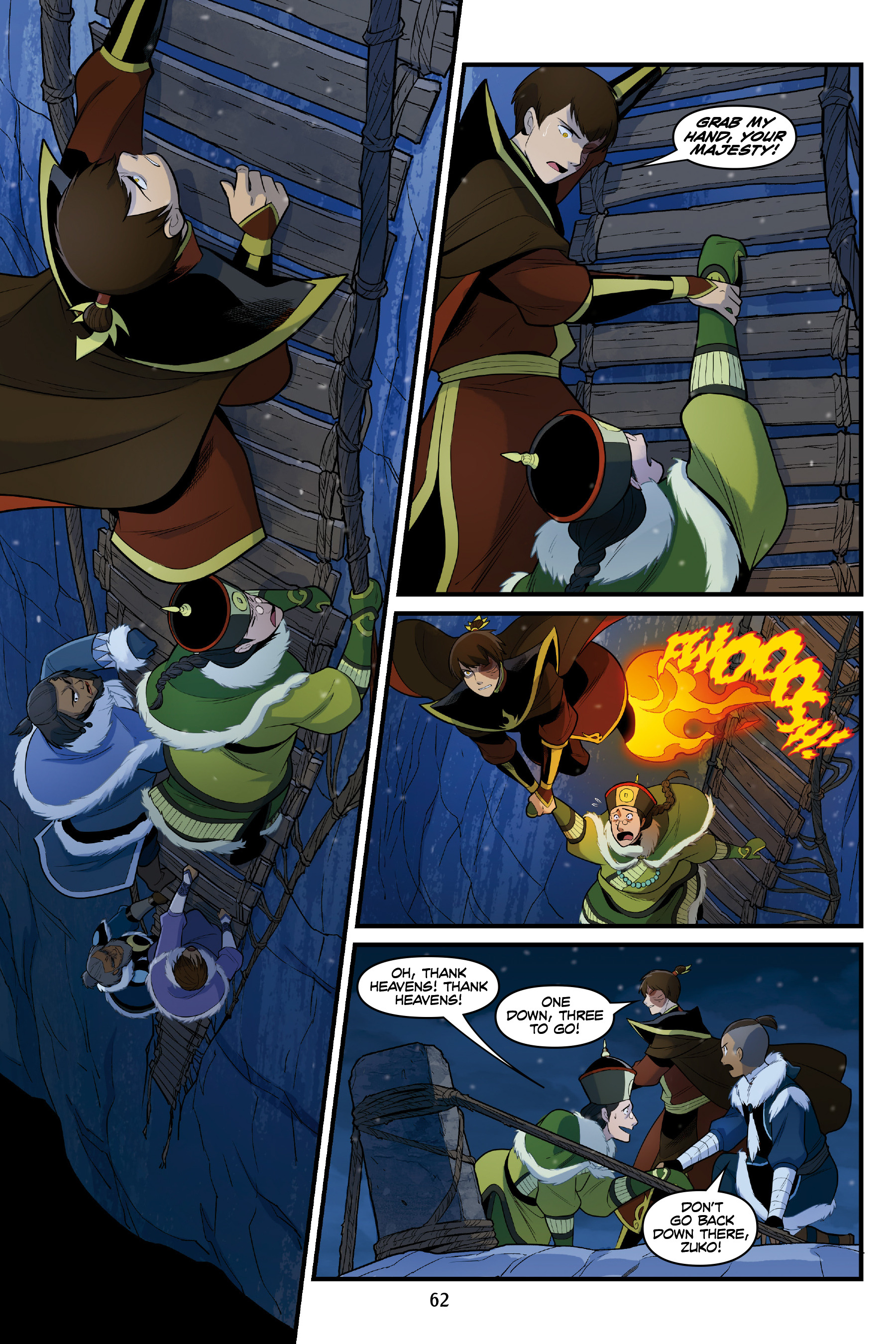 Read online Nickelodeon Avatar: The Last Airbender - North and South comic -  Issue #3 - 61