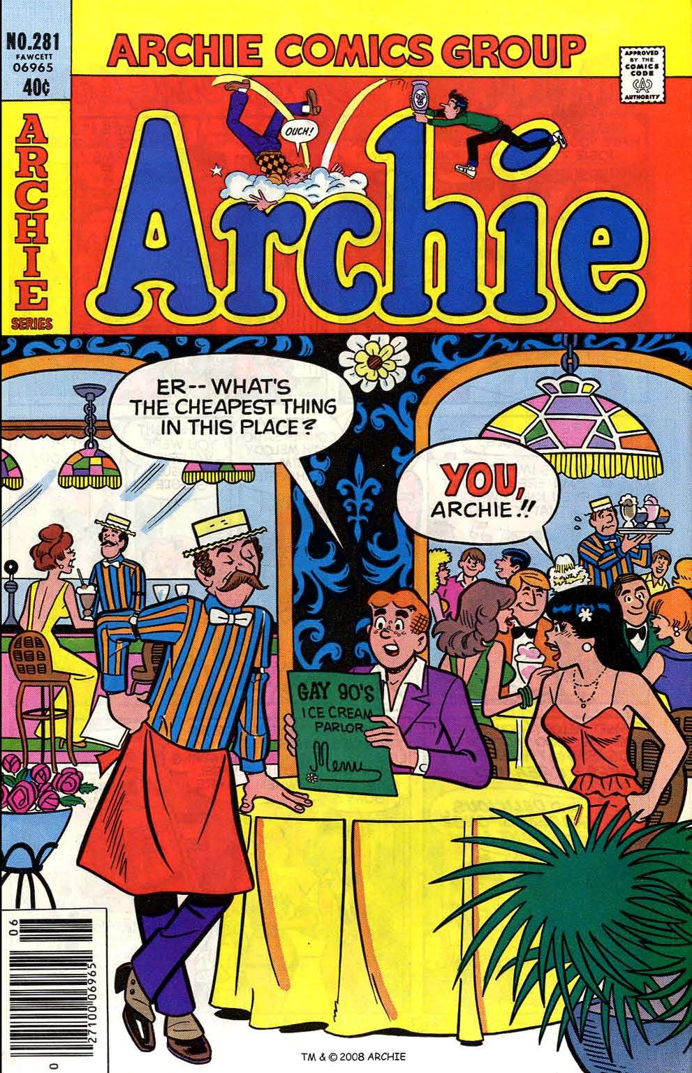 Read online Archie (1960) comic -  Issue #281 - 1