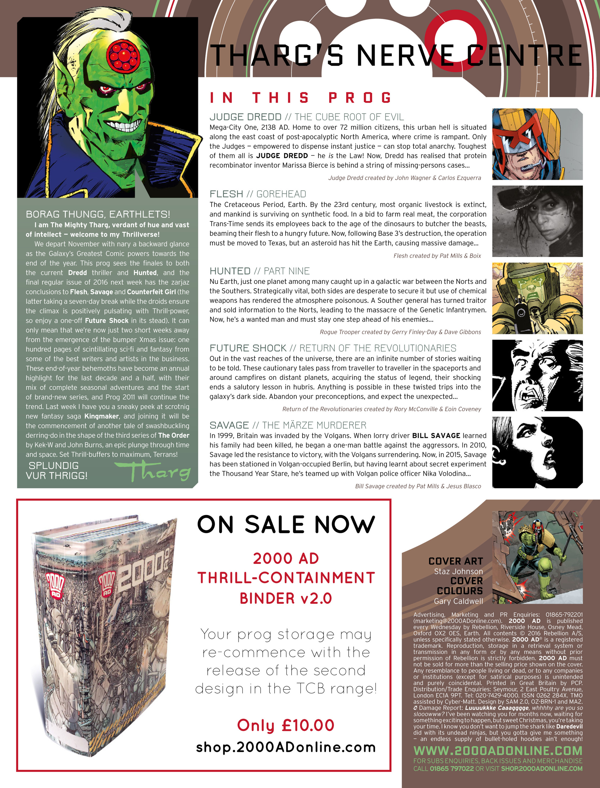 Read online 2000 AD comic -  Issue #2009 - 2