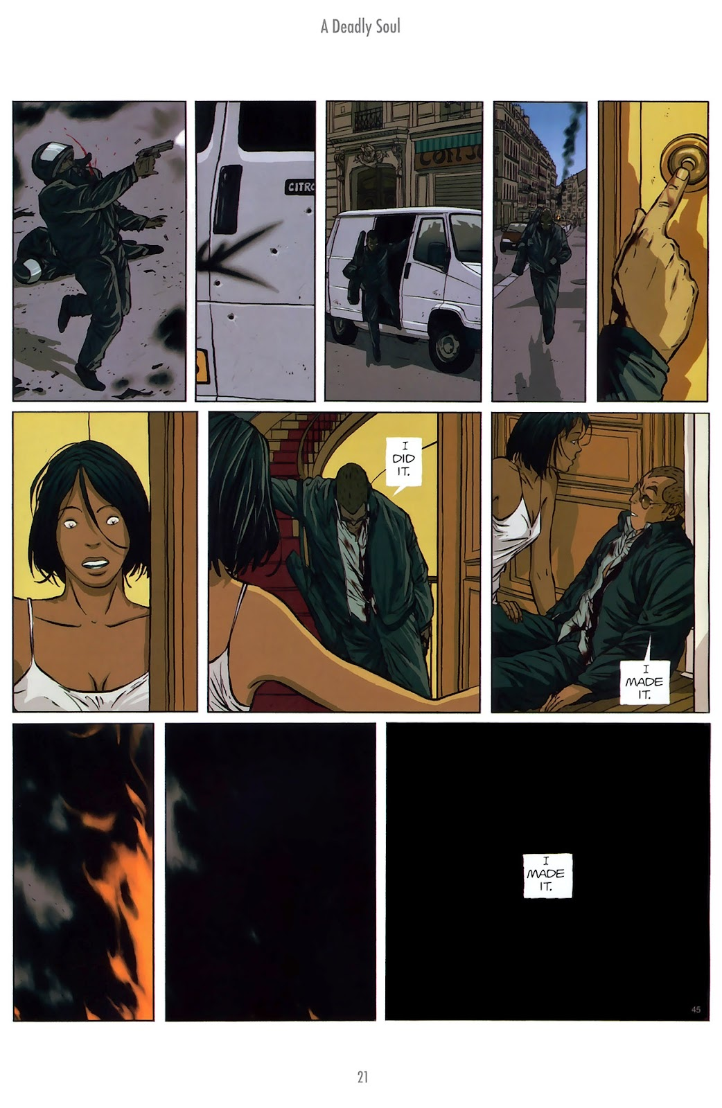Read online The Killer comic -  Issue #10 - 21