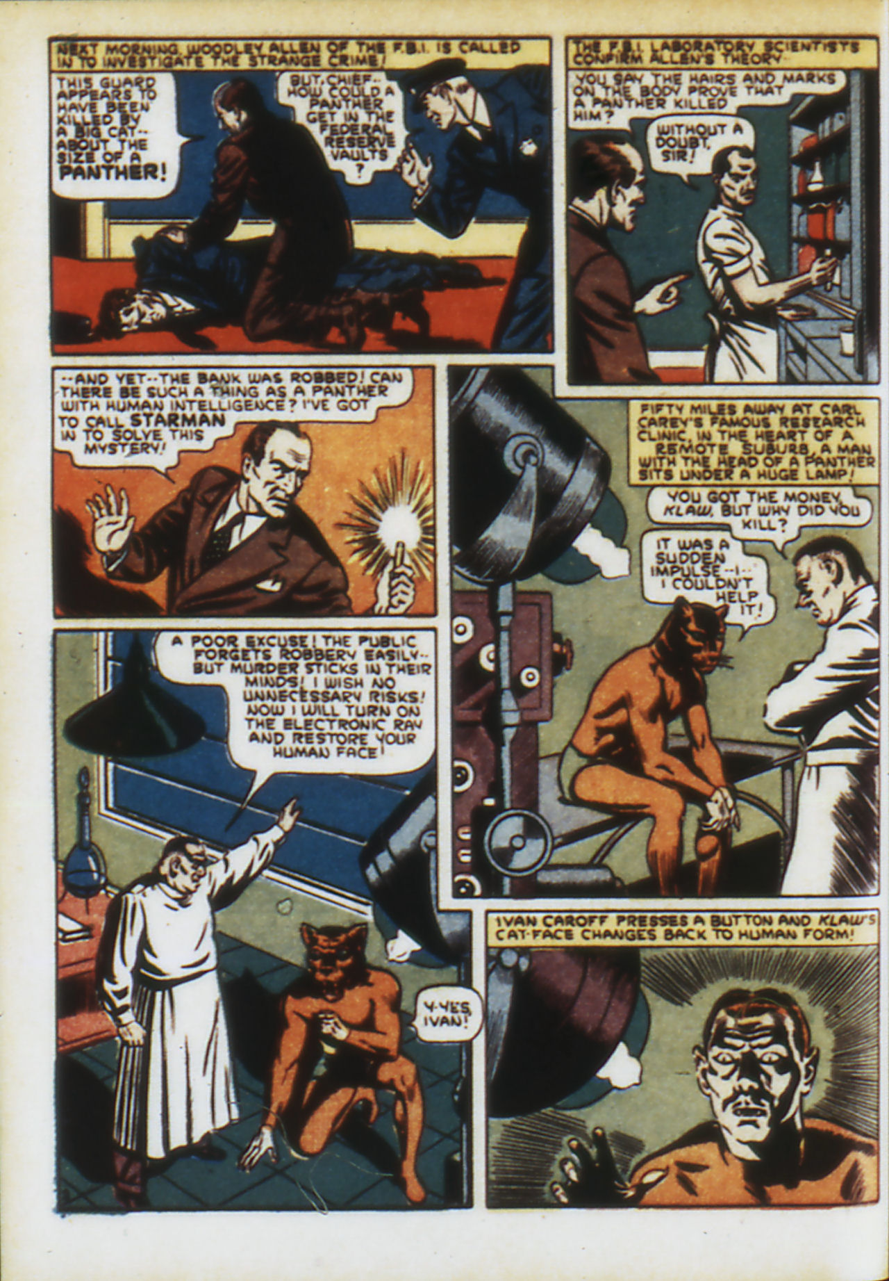 Read online Adventure Comics (1938) comic -  Issue #74 - 5