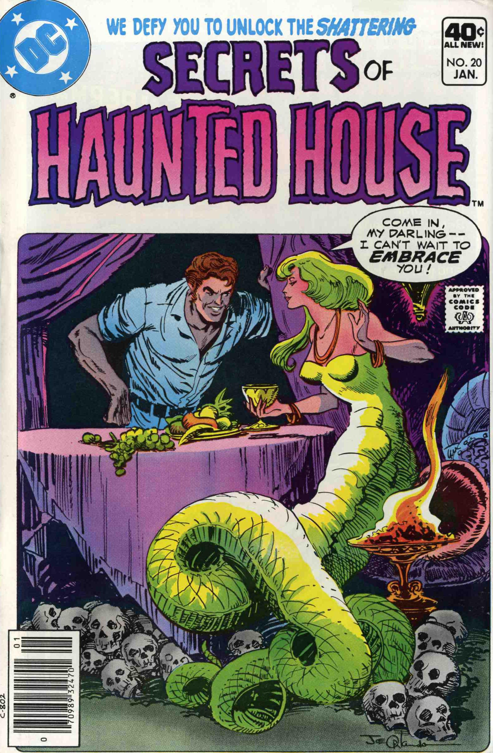 Read online Secrets of Haunted House comic -  Issue #20 - 1