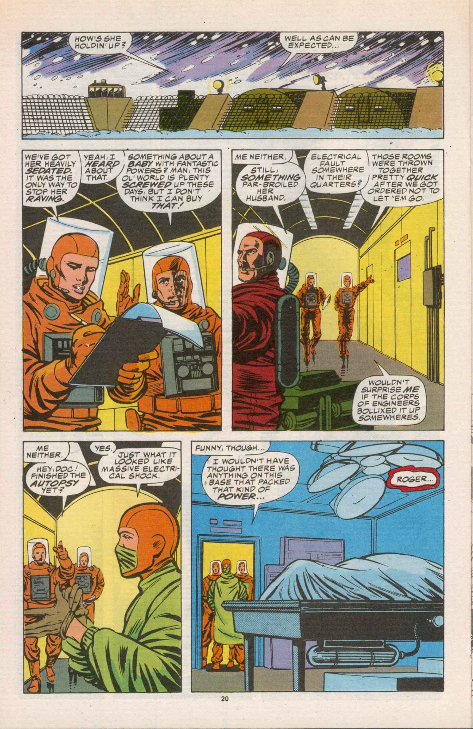 Read online Star Brand comic -  Issue #14 - 21