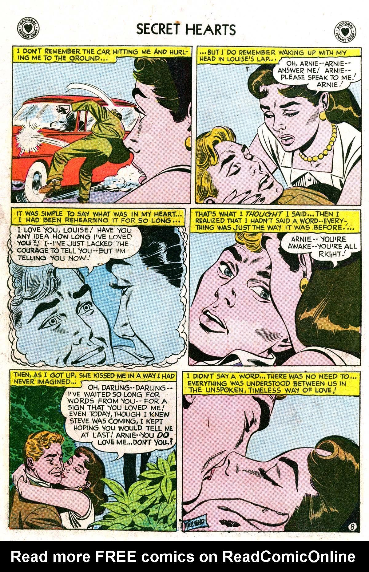 Read online Secret Hearts comic -  Issue #42 - 34