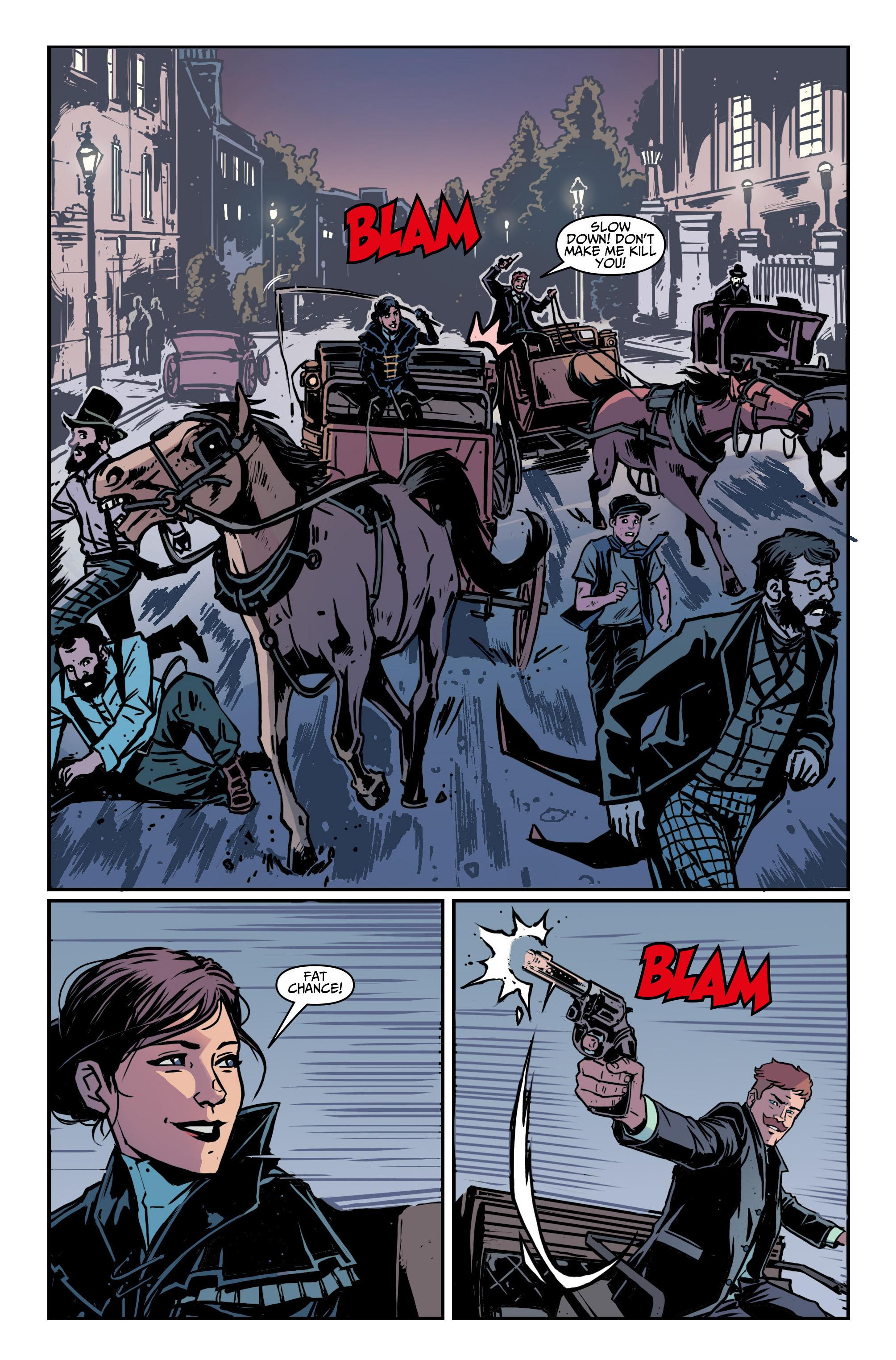 Read online Assassin's Creed: Locus comic -  Issue #4 - 6