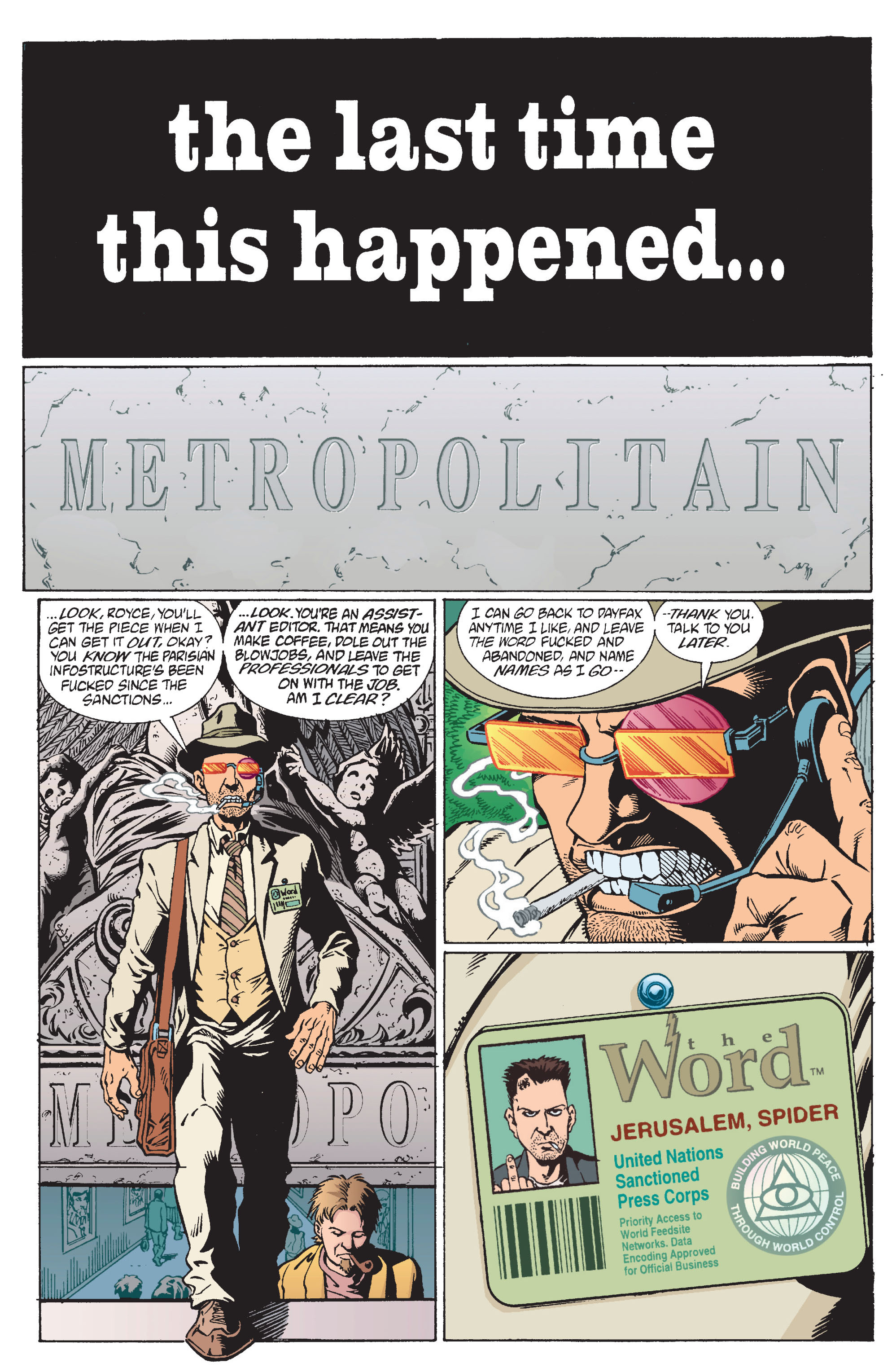 Read online Transmetropolitan comic -  Issue #11 - 3