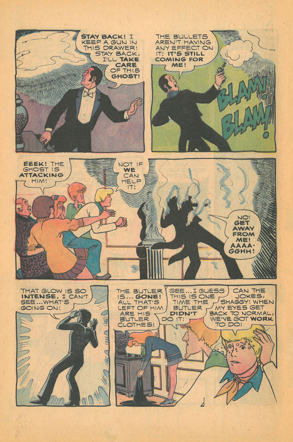 Read online Scooby-Doo... Mystery Comics comic -  Issue #21 - 28