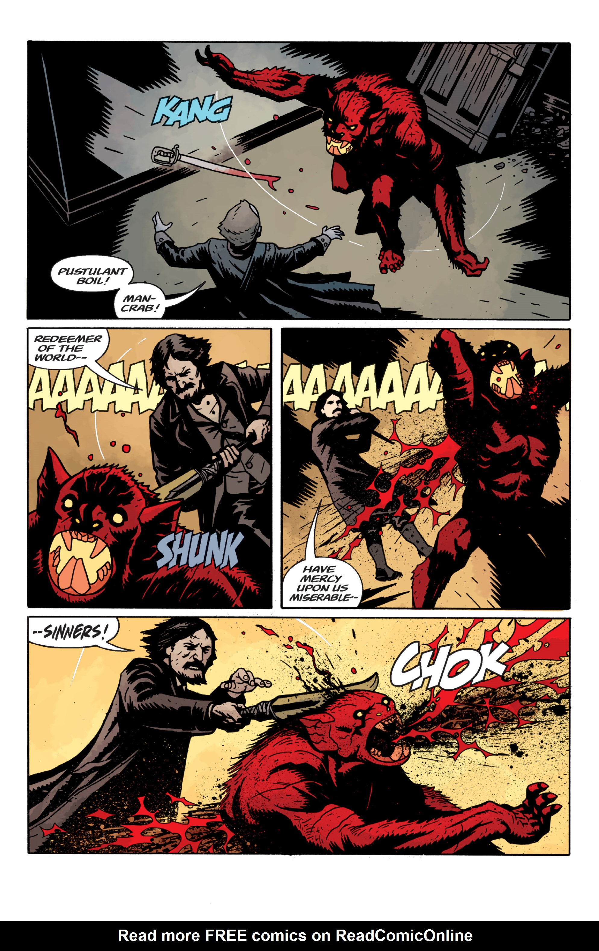 Read online Sir Edward Grey, Witchfinder: In the Service of Angels comic -  Issue # TPB - 58