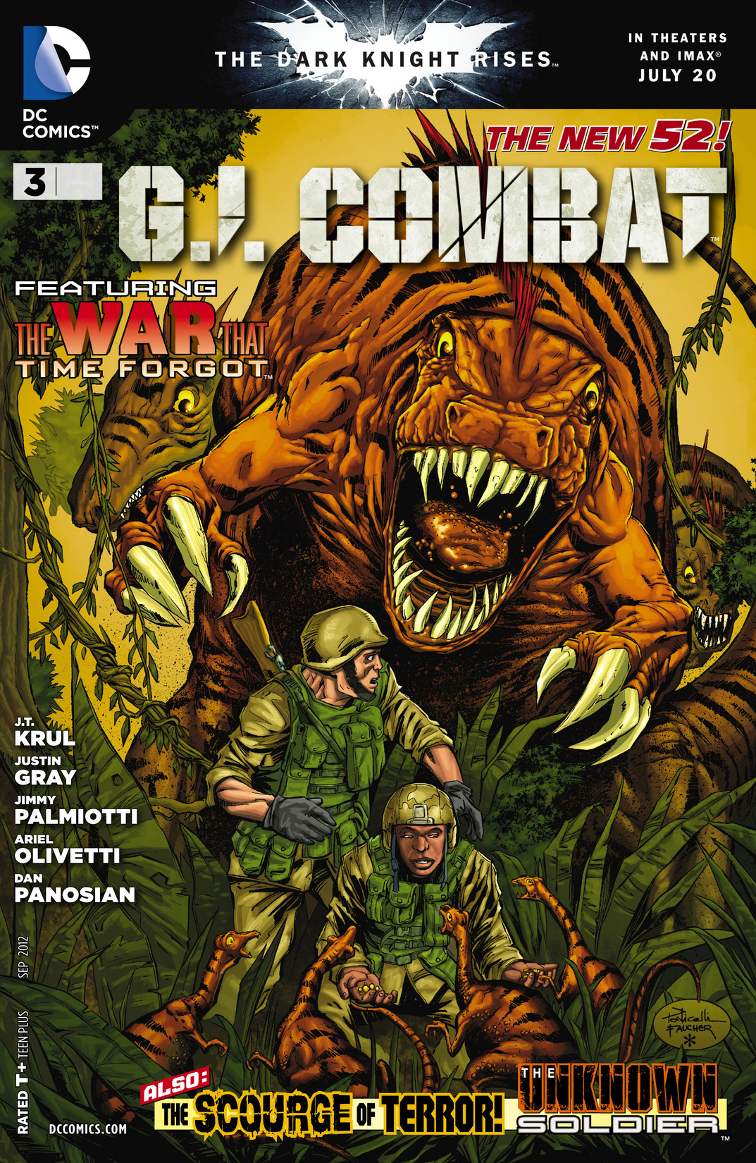 G.I. Combat (2012) issue 3 - Page 1