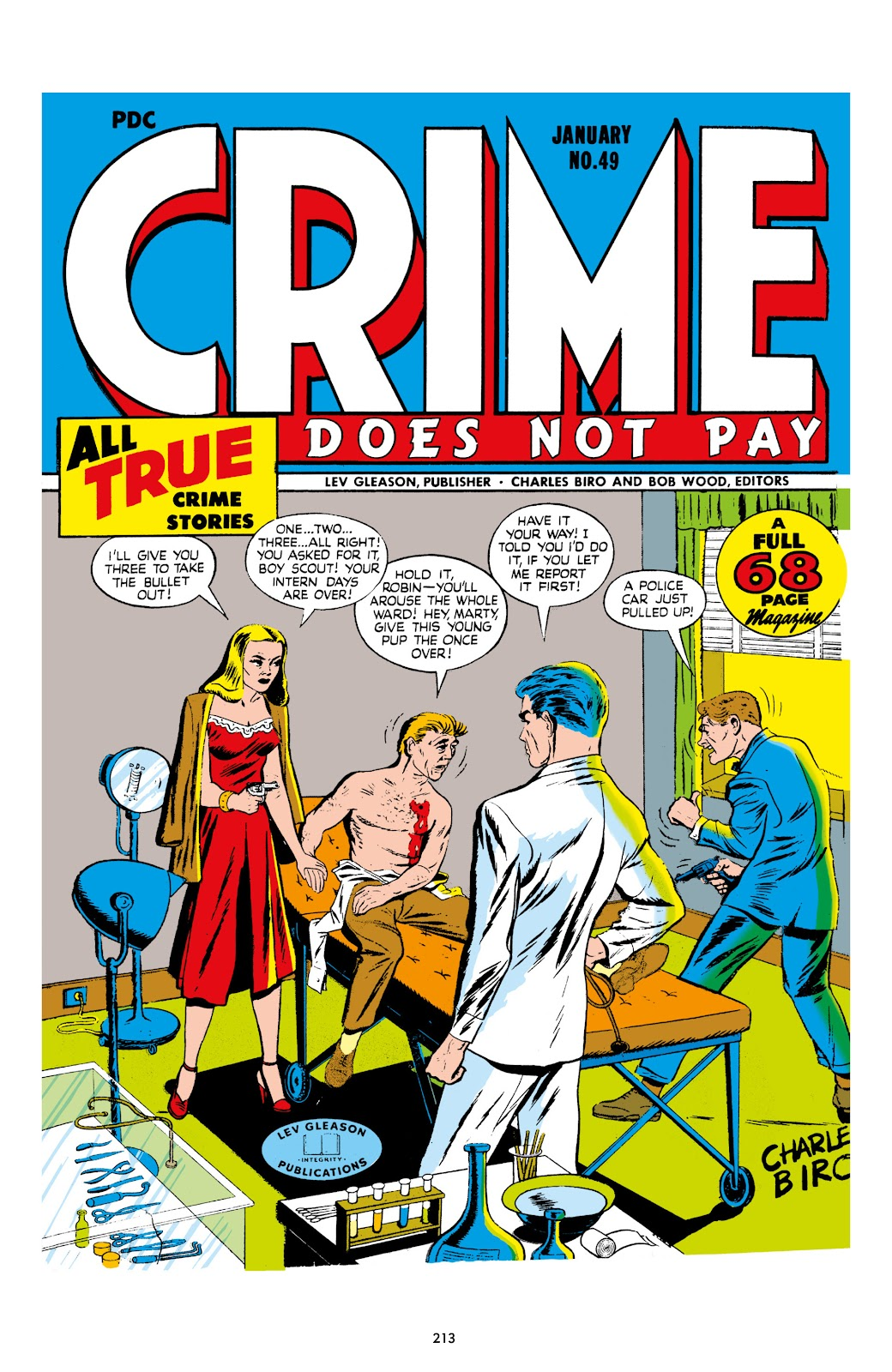 Read online Crime Does Not Pay Archives comic -  Issue # TPB 7 (Part 3) - 14