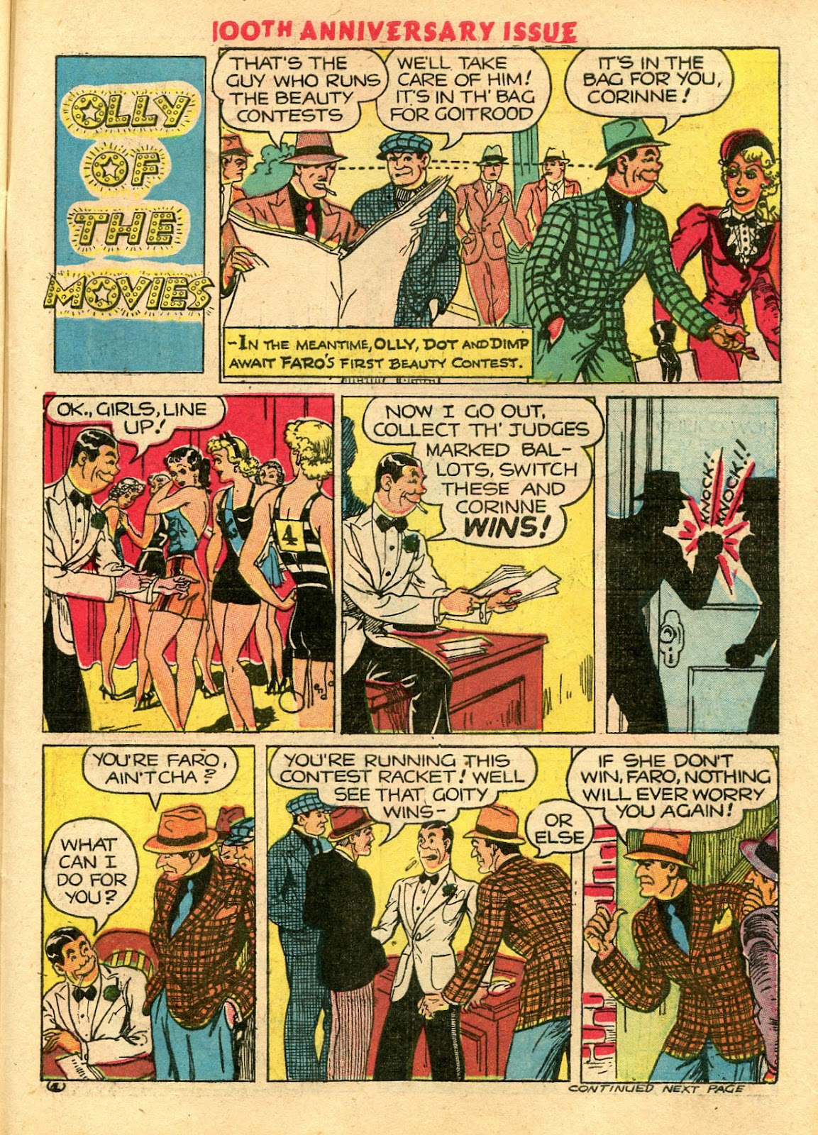 Read online Famous Funnies comic -  Issue #100 - 57