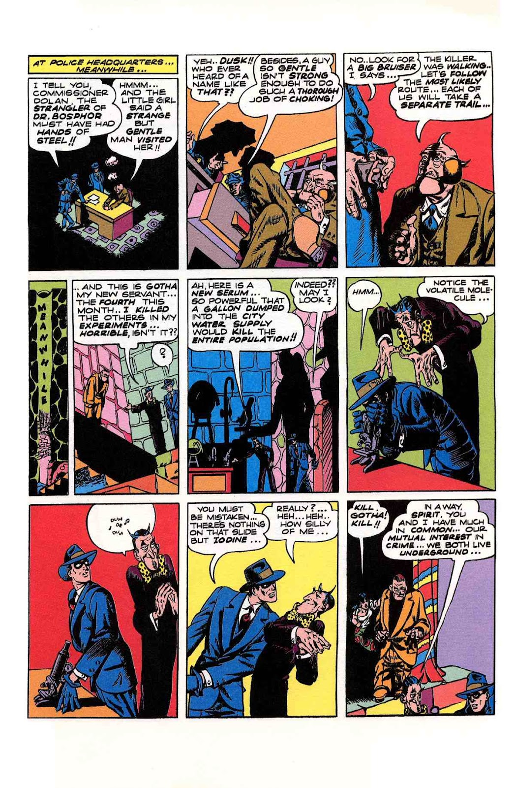 Read online Will Eisner's The Spirit Archives comic -  Issue # TPB 2 (Part 2) - 89