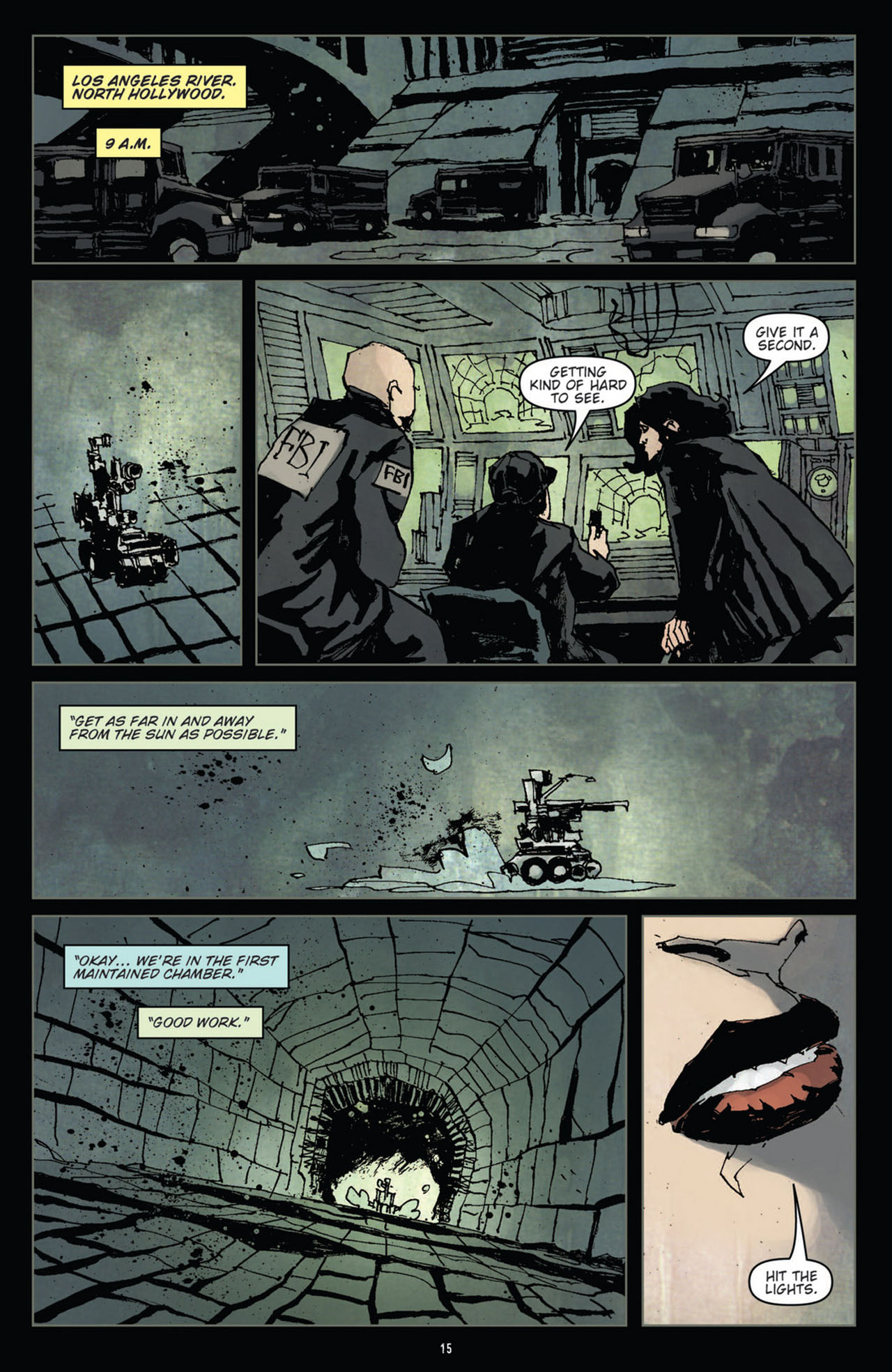 Read online 30 Days of Night (2011) comic -  Issue #10 - 16