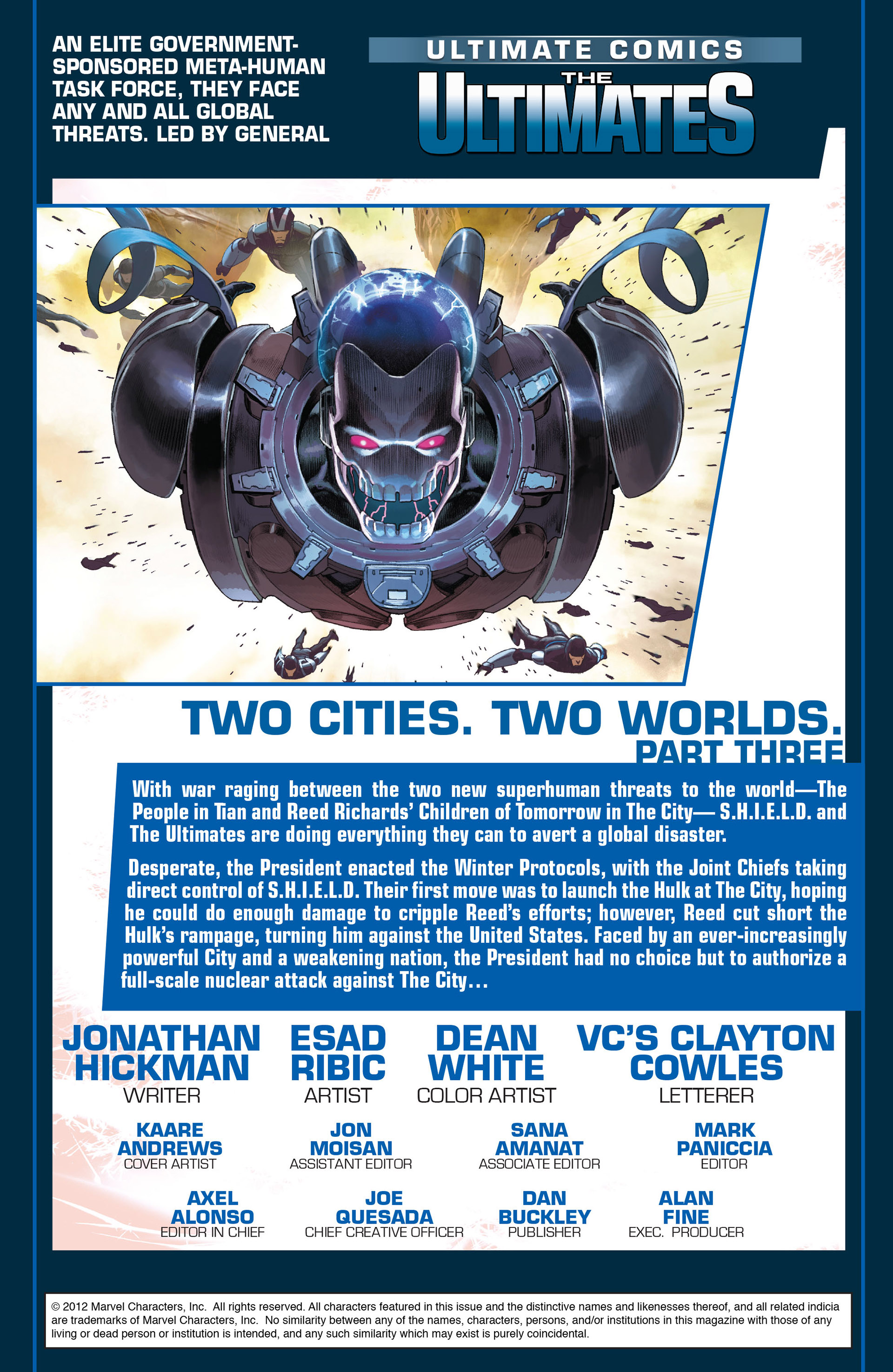 Read online Ultimate Comics Ultimates comic -  Issue #9 - 2